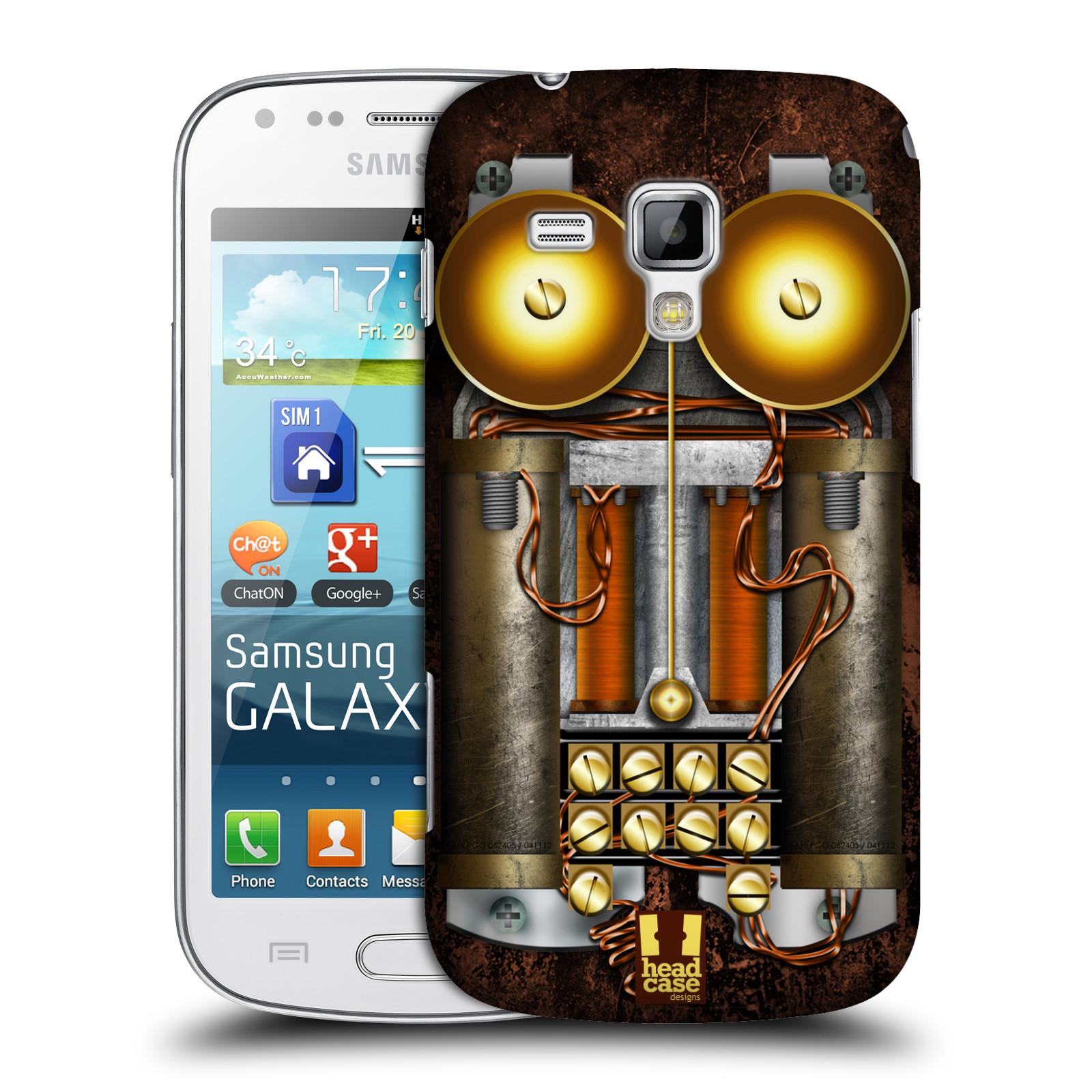 Plastové pouzdro na mobil Samsung Galaxy S Duos HEAD CASE STEAMPUNK TELEFON (Kryt či obal na mobilní telefon Samsung Galaxy S Duos GT-S7562)