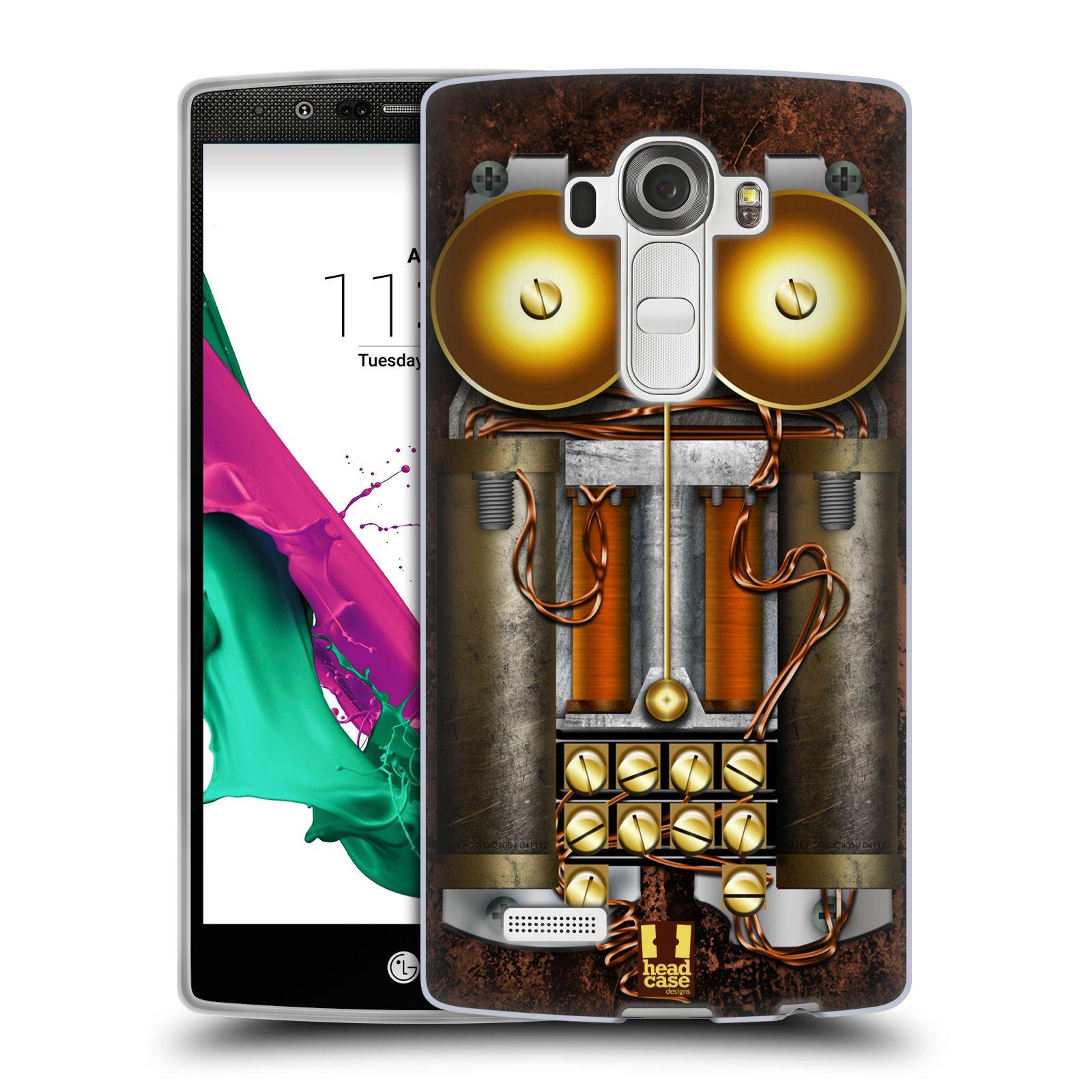 Silikonové pouzdro na mobil LG G4 HEAD CASE STEAMPUNK TELEFON (Silikonový kryt či obal na mobilní telefon LG G4 H815)