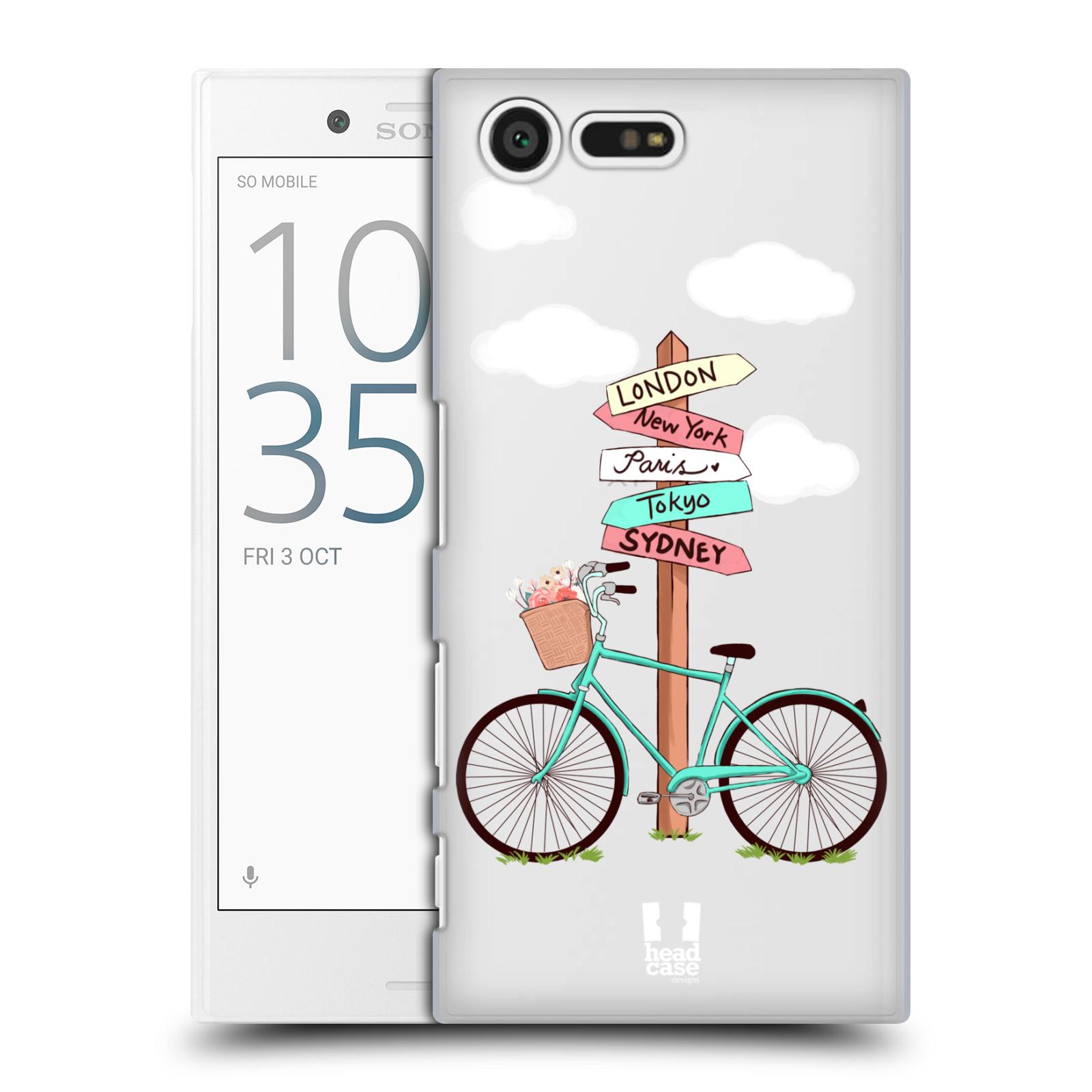 Plastové pouzdro na mobil Sony Xperia X Compact Head Case - Rozcestník s kolem