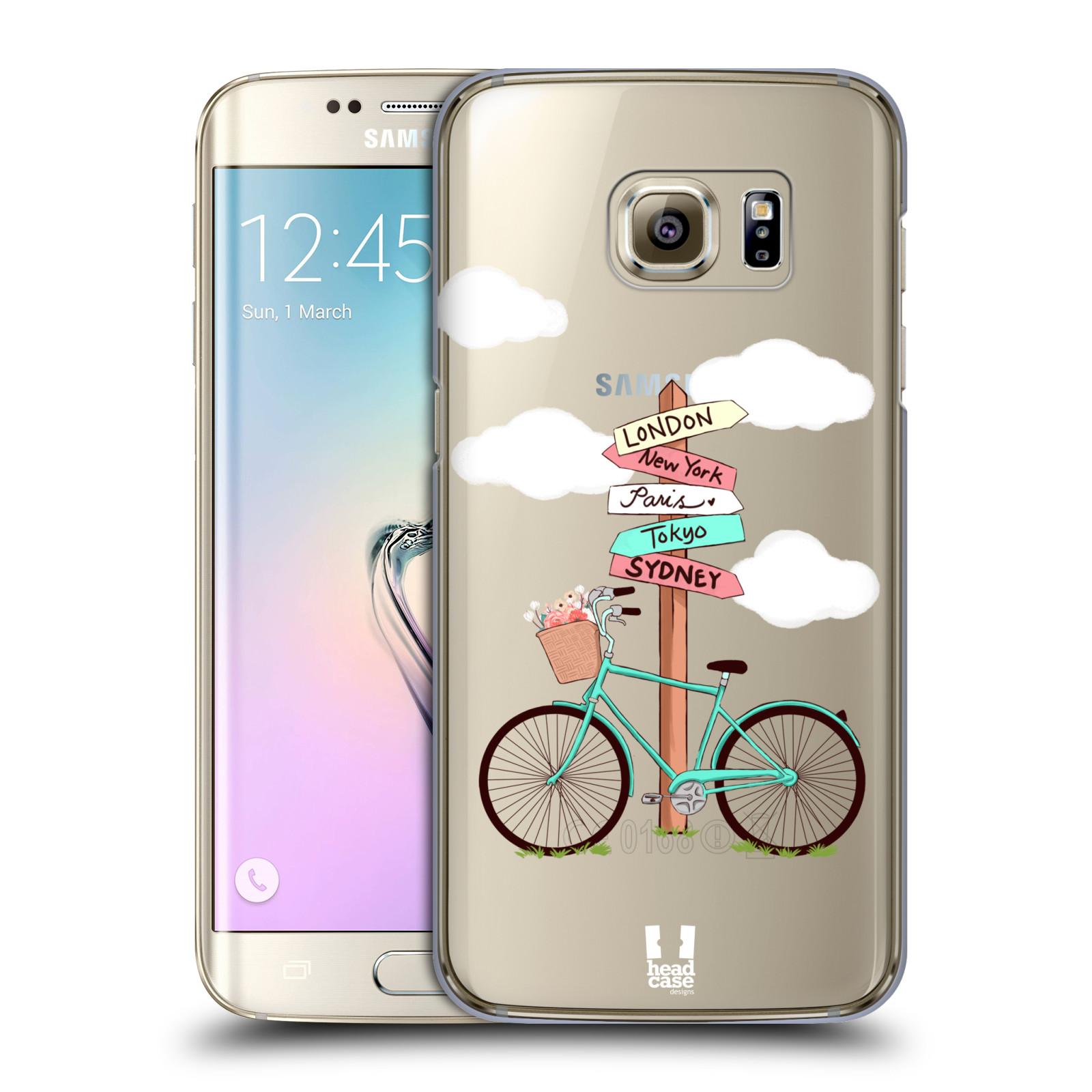 Plastové pouzdro na mobil Samsung Galaxy S7 Edge Head Case - Rozcestník s kolem