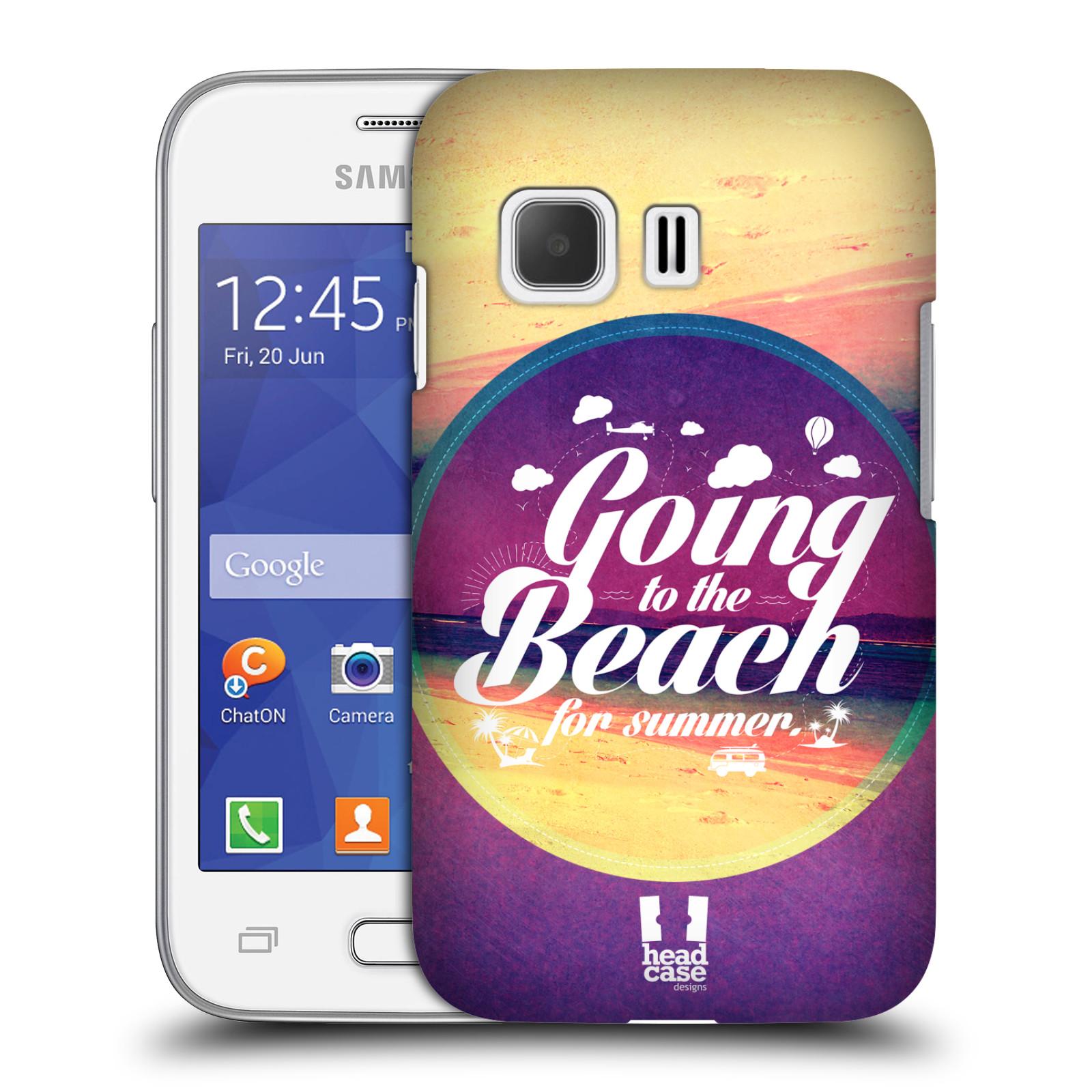 Plastové pouzdro na mobil Samsung Galaxy Young 2 HEAD CASE Léto na pláži (Kryt či obal na mobilní telefon Samsung Galaxy Young 2 SM-G130)