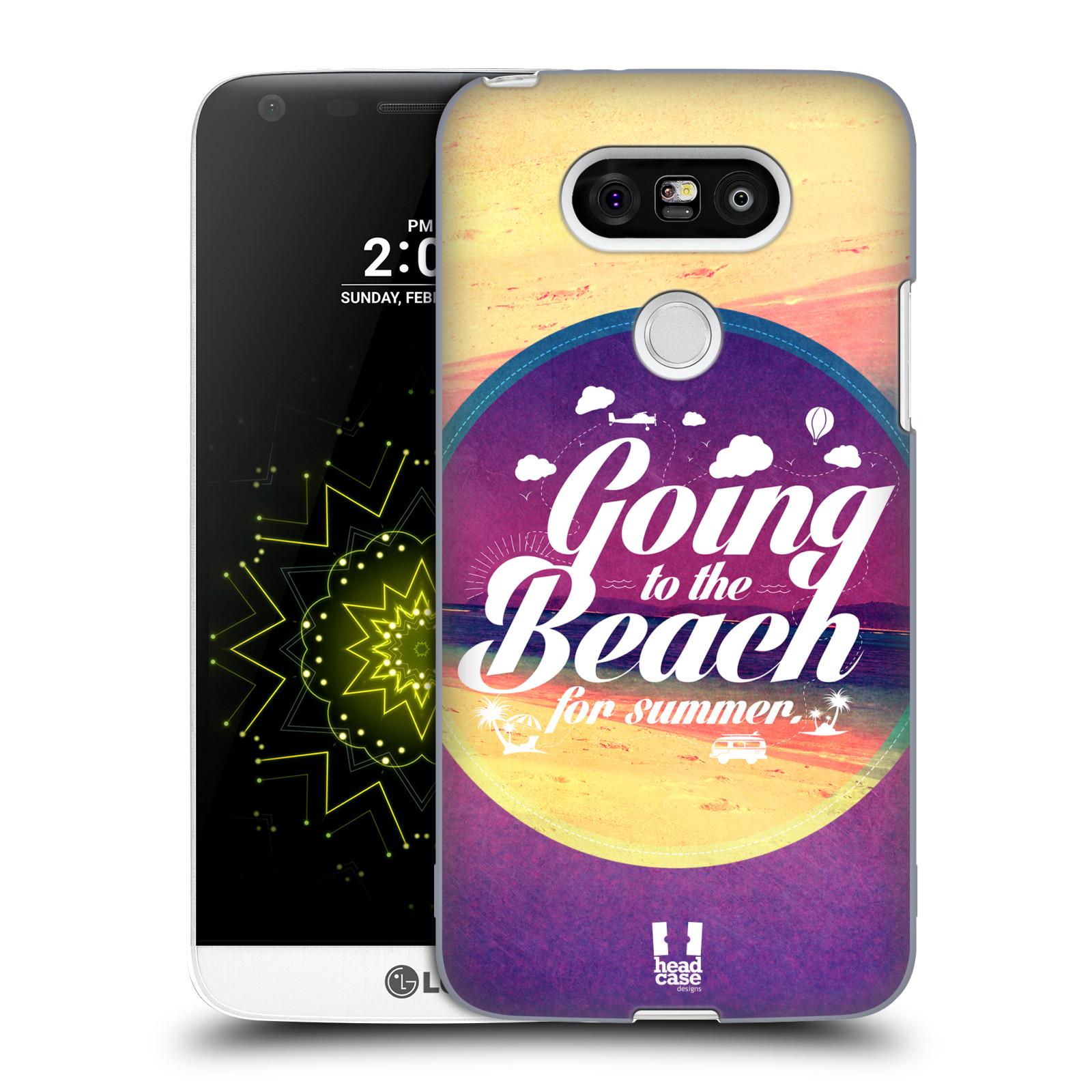 Plastové pouzdro na mobil LG G5 HEAD CASE Léto na pláži (Kryt či obal na mobilní telefon LG G5 H850)