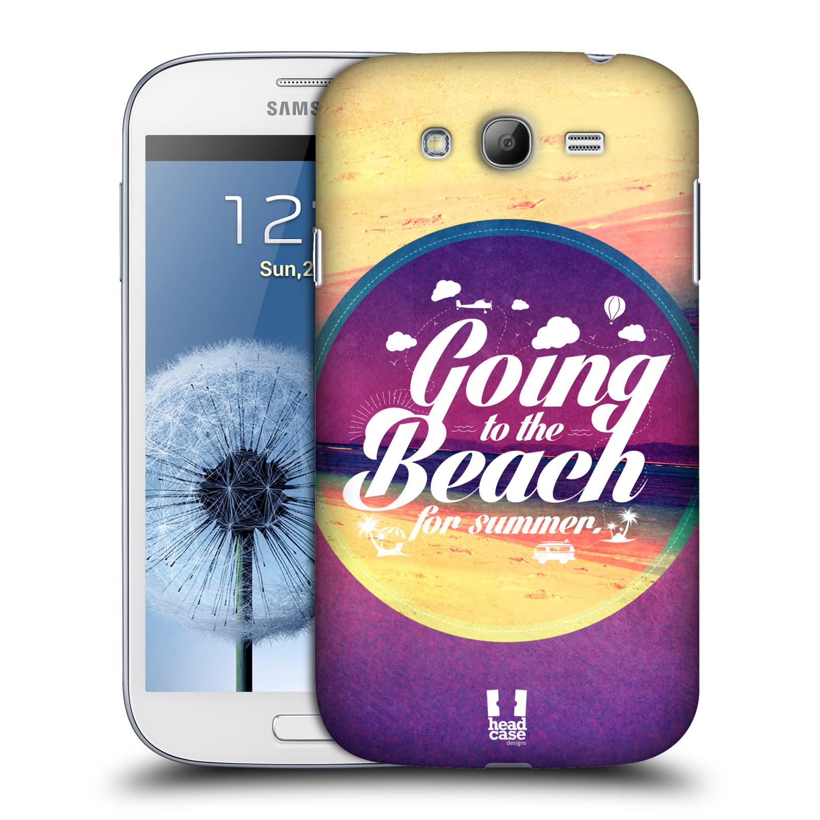 Plastové pouzdro na mobil Samsung Galaxy Grand Neo Plus HEAD CASE Léto na pláži (Kryt či obal na mobilní telefon Samsung Galaxy Grand Neo Plus GT-i9060i)