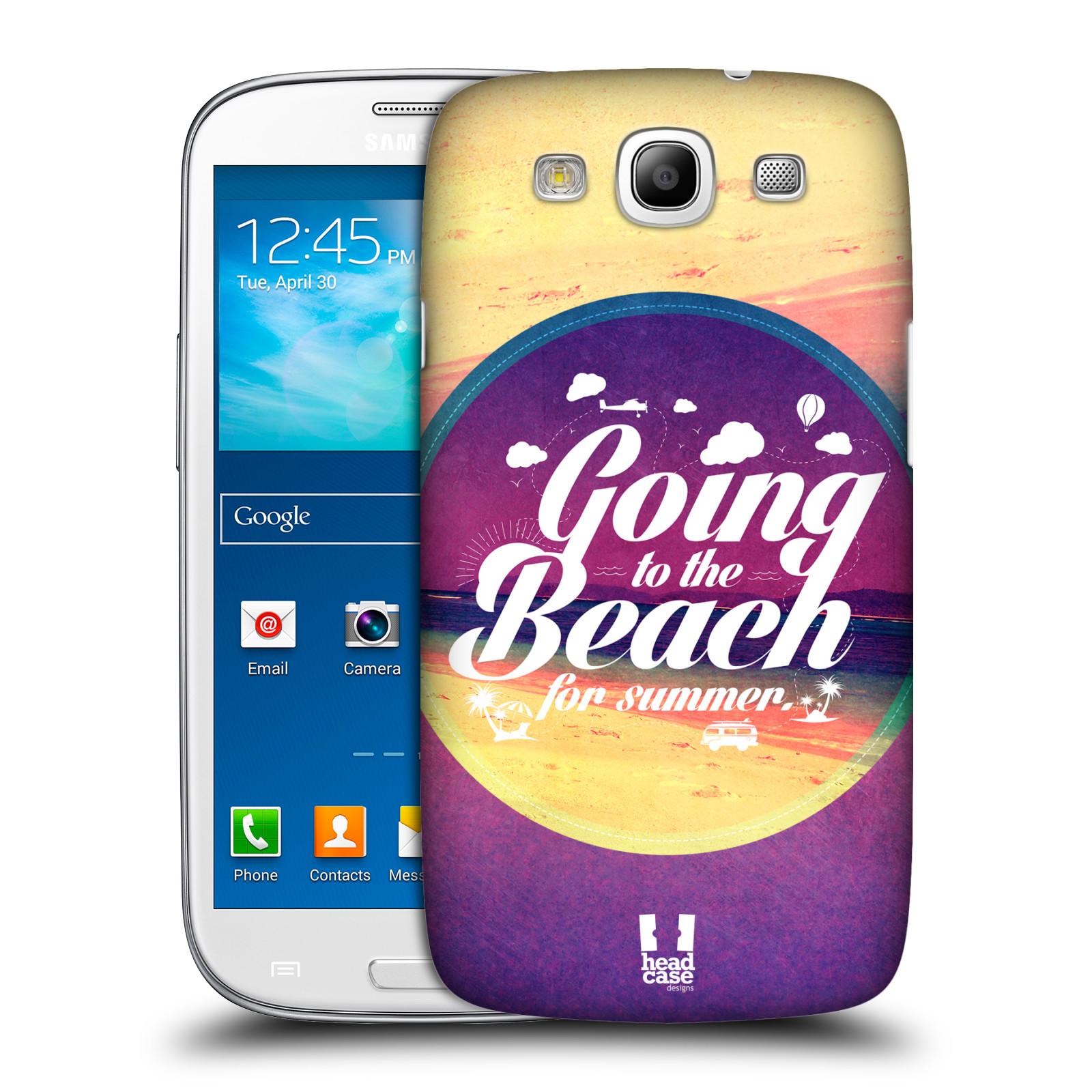 Plastové pouzdro na mobil Samsung Galaxy S3 Neo HEAD CASE Léto na pláži (Kryt či obal na mobilní telefon Samsung Galaxy S3 Neo GT-i9301i)