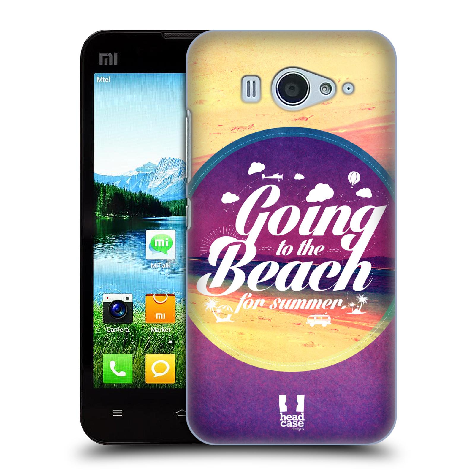 Plastové pouzdro na mobil Xiaomi Mi2S HEAD CASE Léto na pláži (Kryt či obal na mobilní telefon Xiaomi Mi2S)