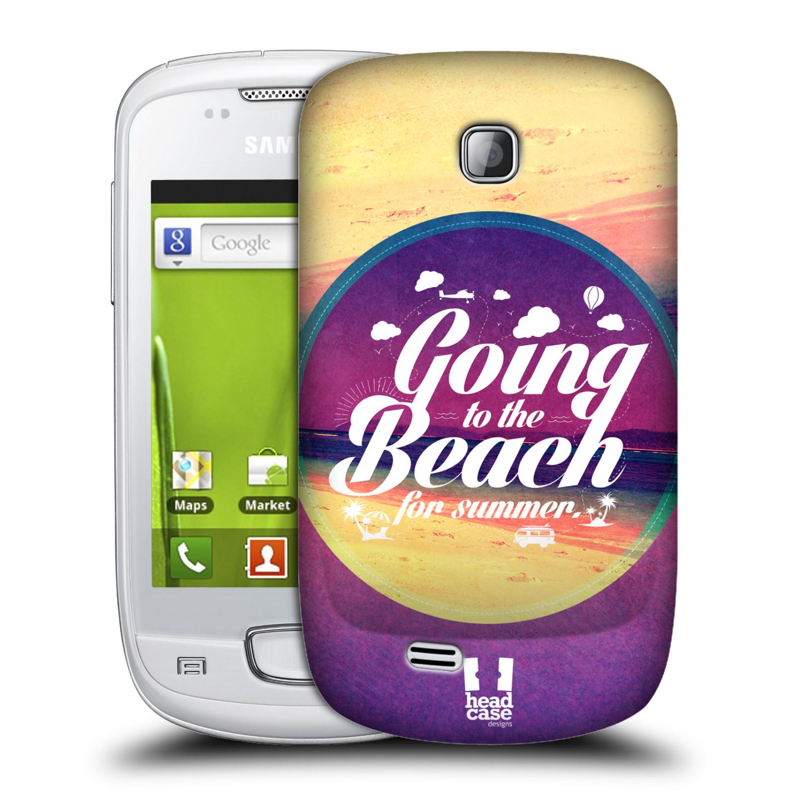 Plastové pouzdro na mobil Samsung Galaxy Mini HEAD CASE Léto na pláži (Kryt či obal na mobilní telefon Samsung Galaxy Mini GT-S5570 / GT-S5570i)
