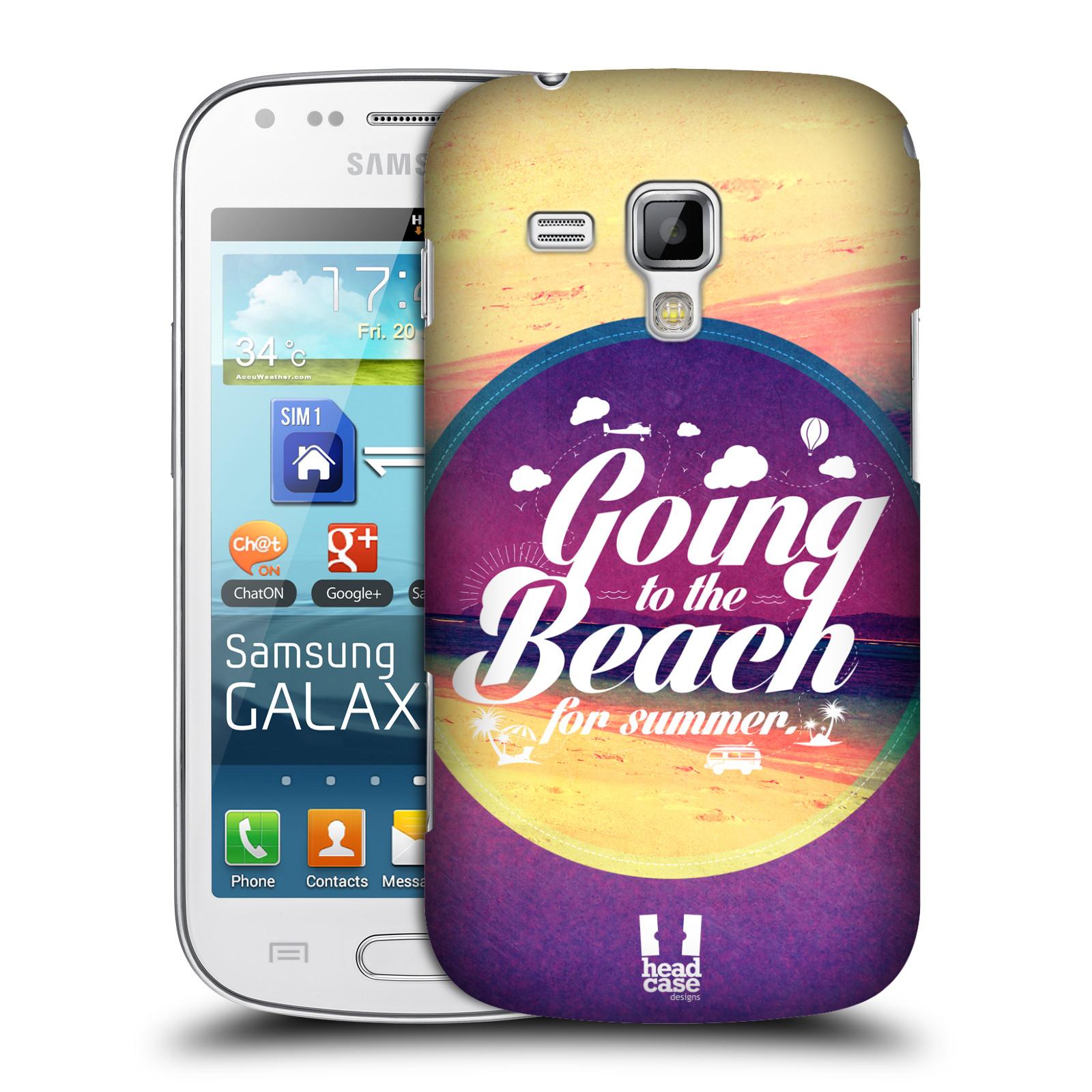 Plastové pouzdro na mobil Samsung Galaxy Trend Plus HEAD CASE Léto na pláži (Kryt či obal na mobilní telefon Samsung Galaxy Trend Plus GT-S7580)