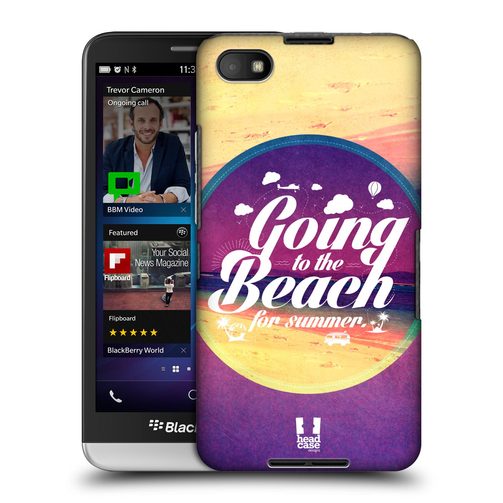 Plastové pouzdro na mobil Blackberry Z30 HEAD CASE Léto na pláži (Kryt či obal na mobilní telefon Blackberry Z30)