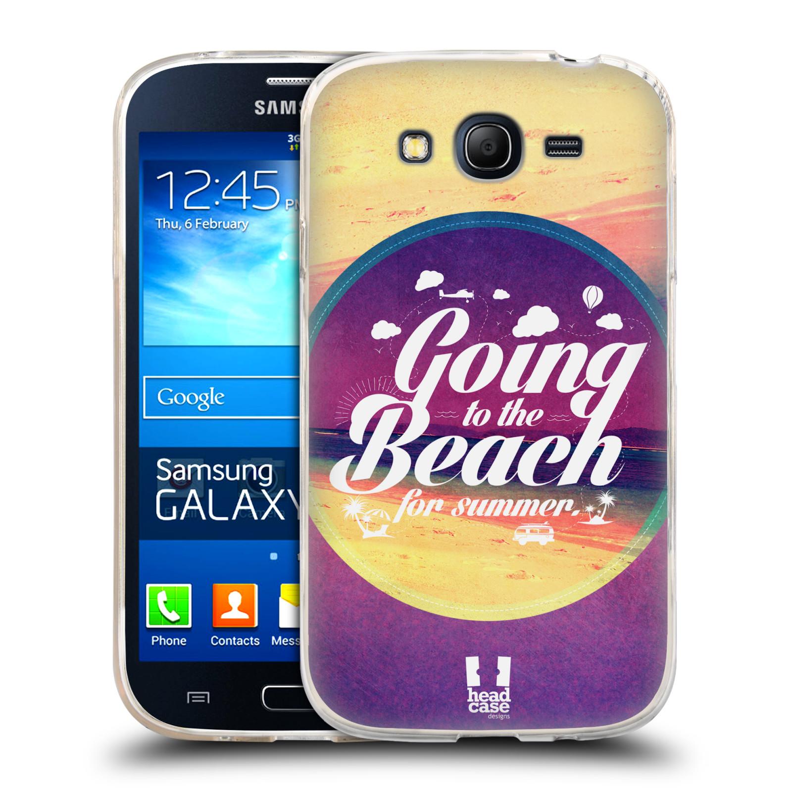 Silikonové pouzdro na mobil Samsung Galaxy Grand Neo HEAD CASE Léto na pláži (Silikonový kryt či obal na mobilní telefon Samsung Galaxy Grand Neo GT-I9060)