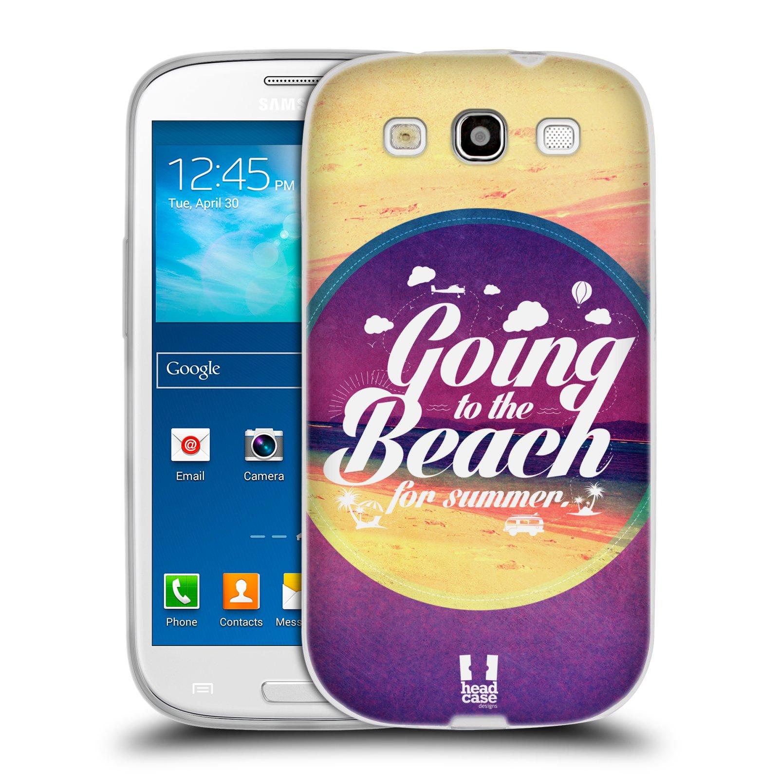 Silikonové pouzdro na mobil Samsung Galaxy S3 Neo HEAD CASE Léto na pláži (Silikonový kryt či obal na mobilní telefon Samsung Galaxy S3 Neo GT-i9301i)