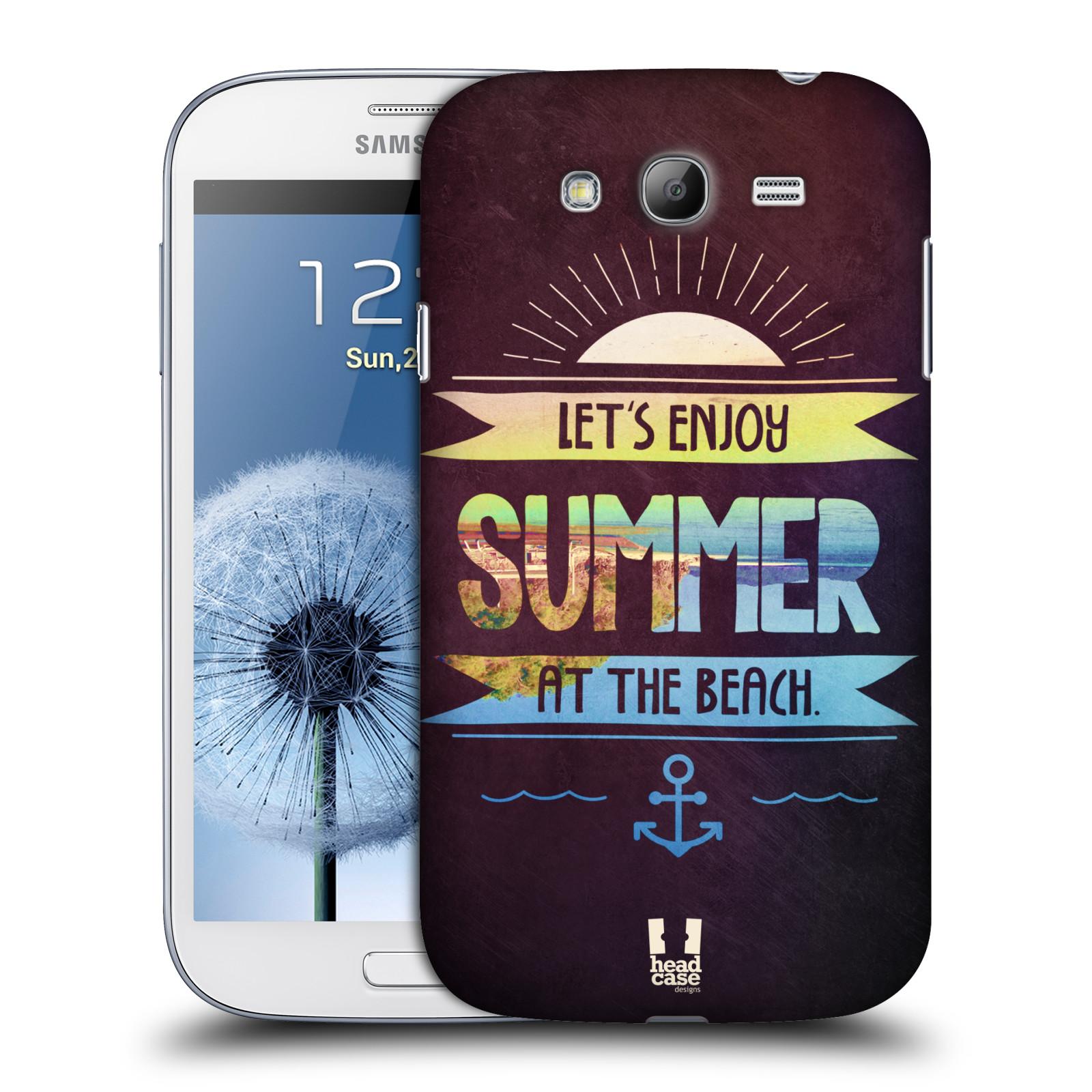 Plastové pouzdro na mobil Samsung Galaxy Grand Neo HEAD CASE Užij si léto na pláži (Kryt či obal na mobilní telefon Samsung Galaxy Grand Neo GT-i9060)