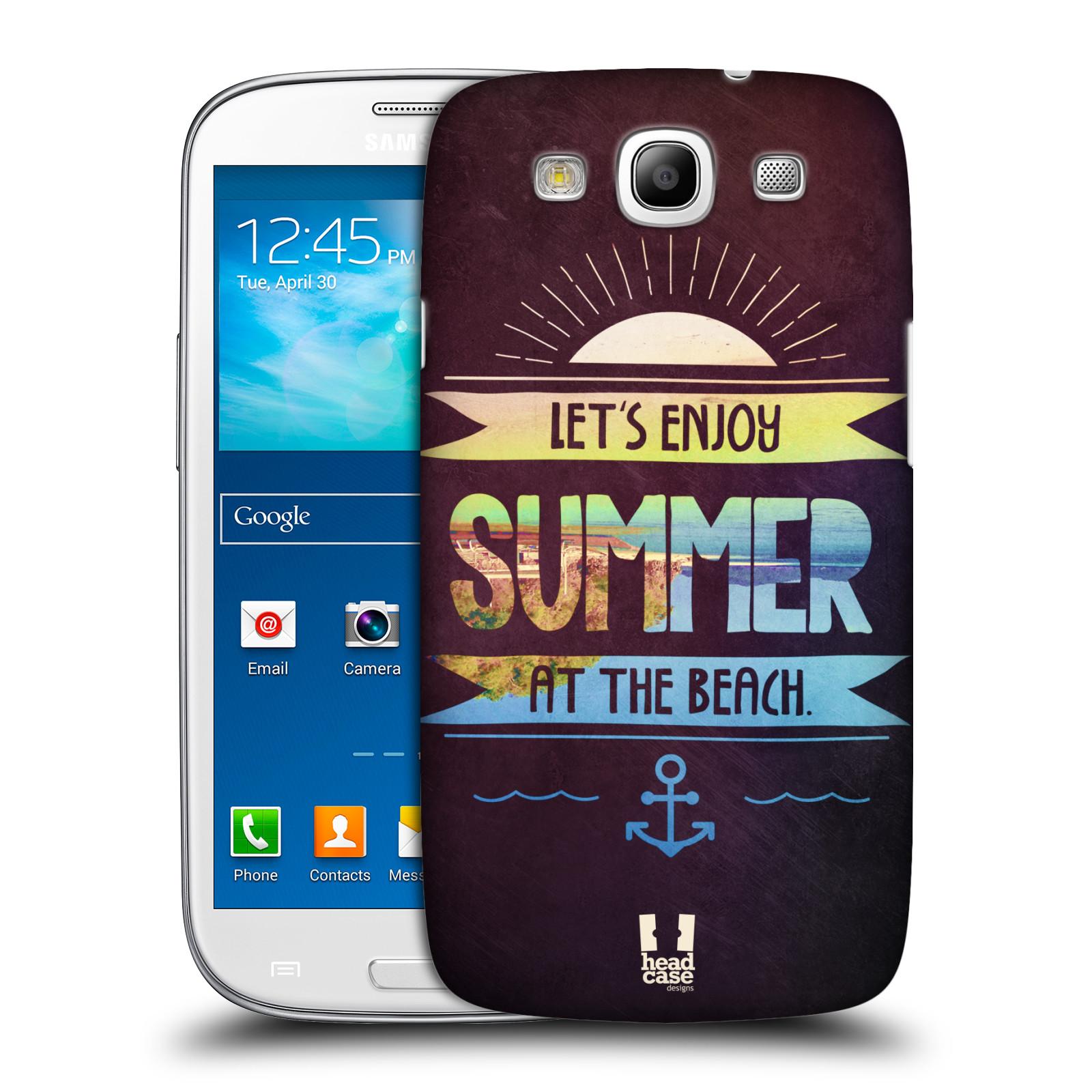 Plastové pouzdro na mobil Samsung Galaxy S3 Neo HEAD CASE Užij si léto na pláži (Kryt či obal na mobilní telefon Samsung Galaxy S3 Neo GT-i9301i)