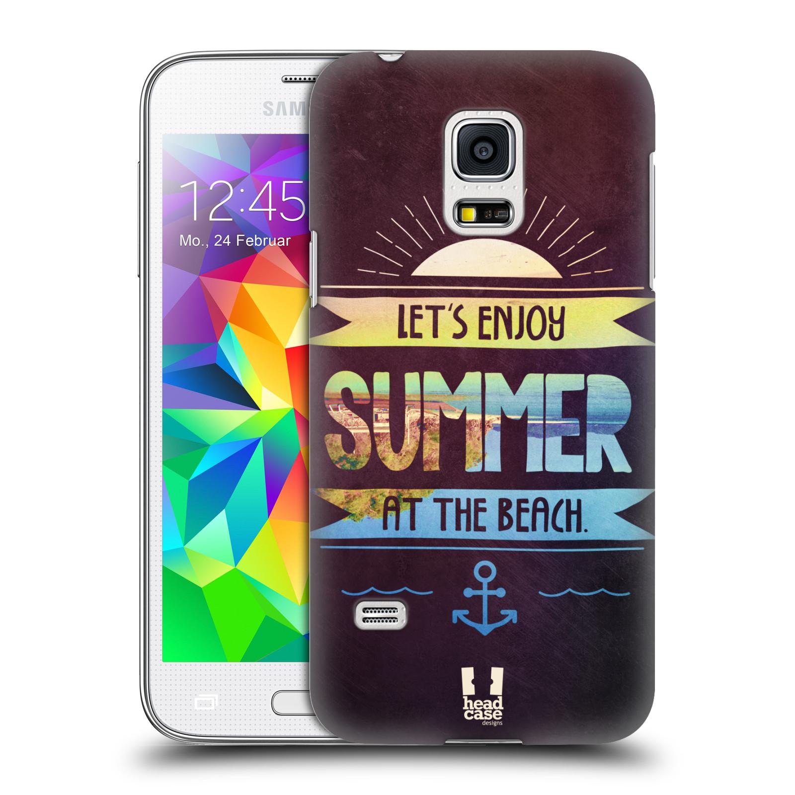 Plastové pouzdro na mobil Samsung Galaxy S5 Mini HEAD CASE Užij si léto na pláži