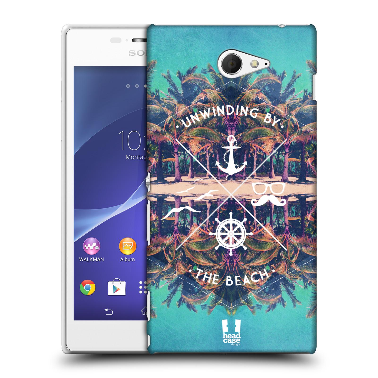 Plastové pouzdro na mobil Sony Xperia M2 D2303 HEAD CASE Bezvětří (Kryt či obal na mobilní telefon Sony Xperia M2 )