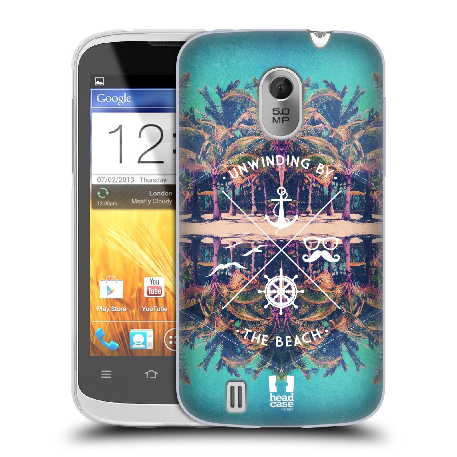 Silikonové pouzdro na mobil ZTE Blade III HEAD CASE Bezvětří (Silikonový kryt či obal na mobilní telefon ZTE Blade 3)