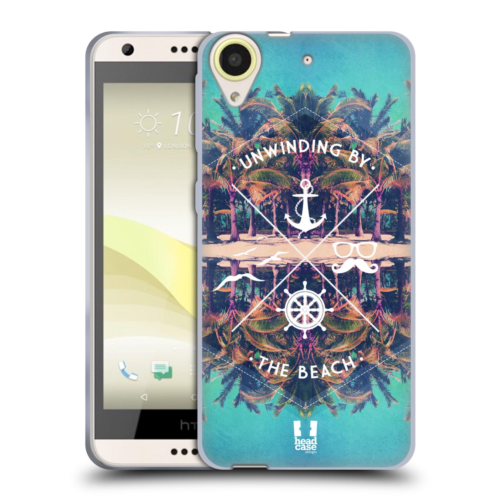 Silikonové pouzdro na mobil HTC Desire 650 HEAD CASE Bezvětří (Silikonový kryt či obal na mobilní telefon HTC Desire 650)