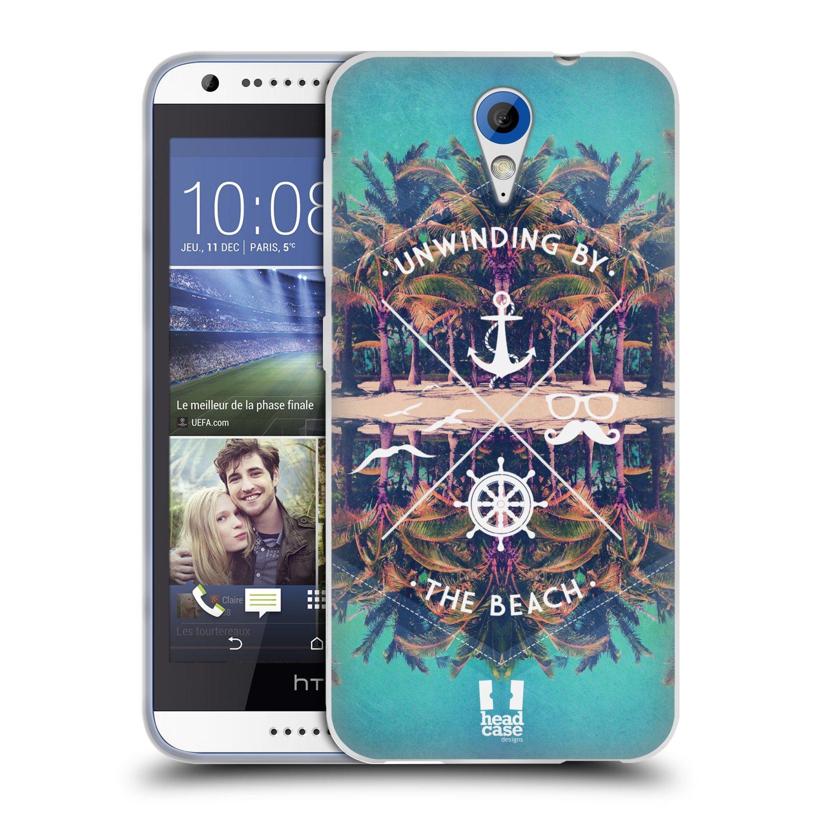 Silikonové pouzdro na mobil HTC Desire 620 HEAD CASE Bezvětří (Silikonový kryt či obal na mobilní telefon HTC Desire 620)