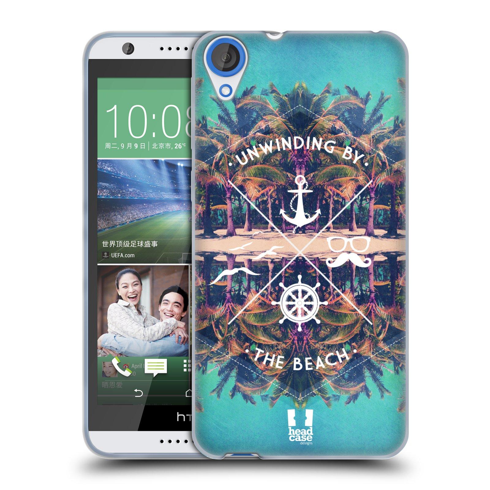 Silikonové pouzdro na mobil HTC Desire 820 HEAD CASE Bezvětří (Silikonový kryt či obal na mobilní telefon HTC Desire 820)