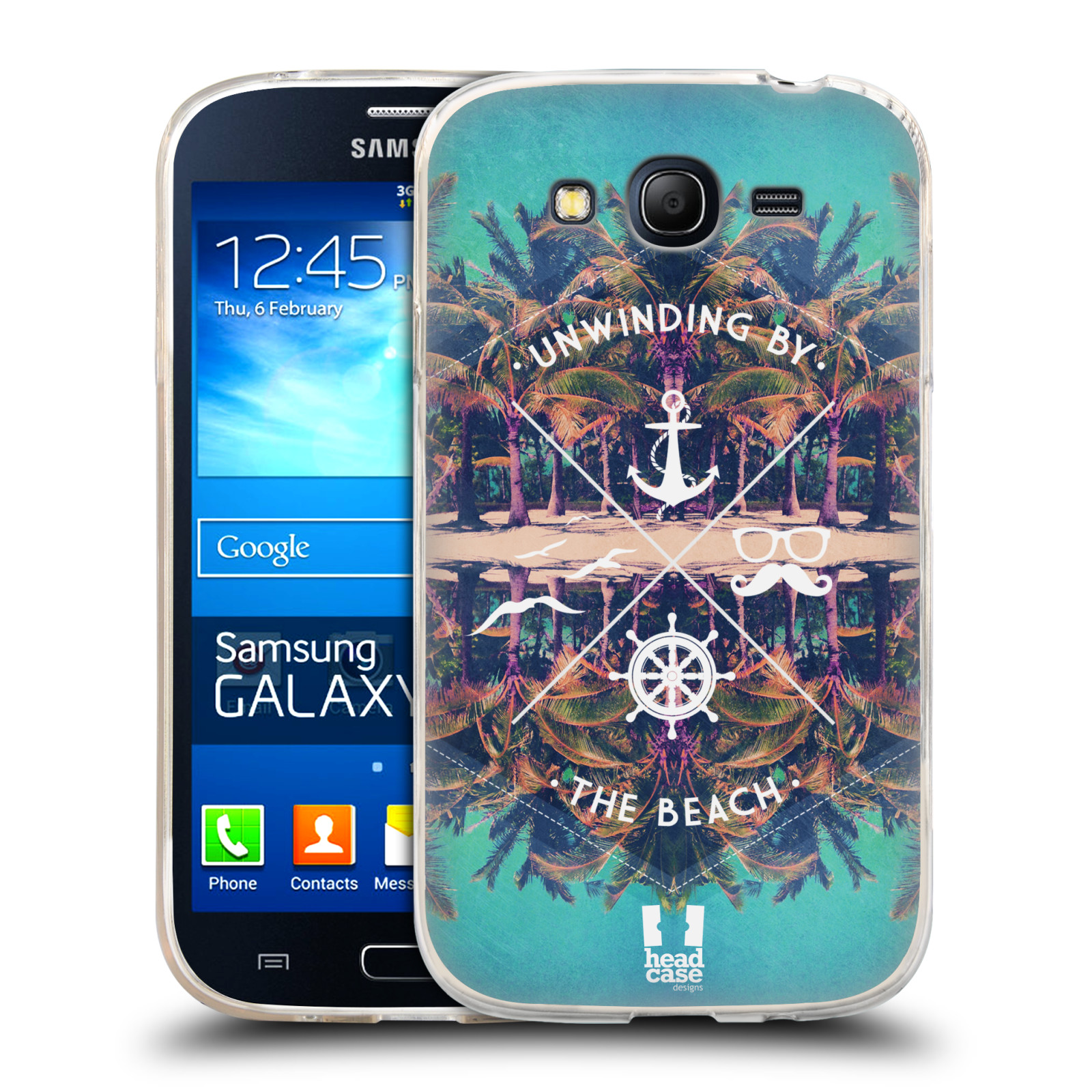 Silikonové pouzdro na mobil Samsung Galaxy Grand Neo Plus HEAD CASE Bezvětří (Silikonový kryt či obal na mobilní telefon Samsung Galaxy Grand Neo Plus Duos GT-I9060i)