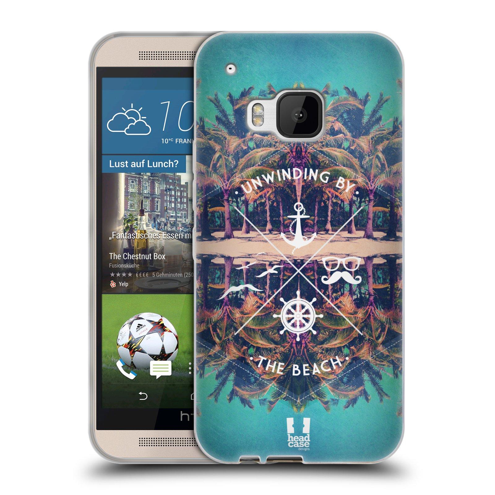 Silikonové pouzdro na mobil HTC ONE M9 HEAD CASE Bezvětří (Silikonový kryt či obal na mobilní telefon HTC ONE M9)