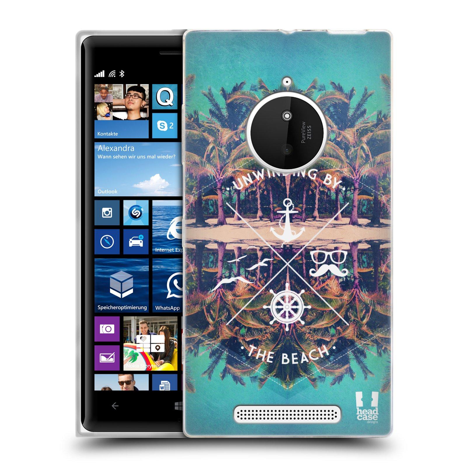 Silikonové pouzdro na mobil Nokia Lumia 830 HEAD CASE Bezvětří (Silikonový kryt či obal na mobilní telefon Nokia Lumia 830)