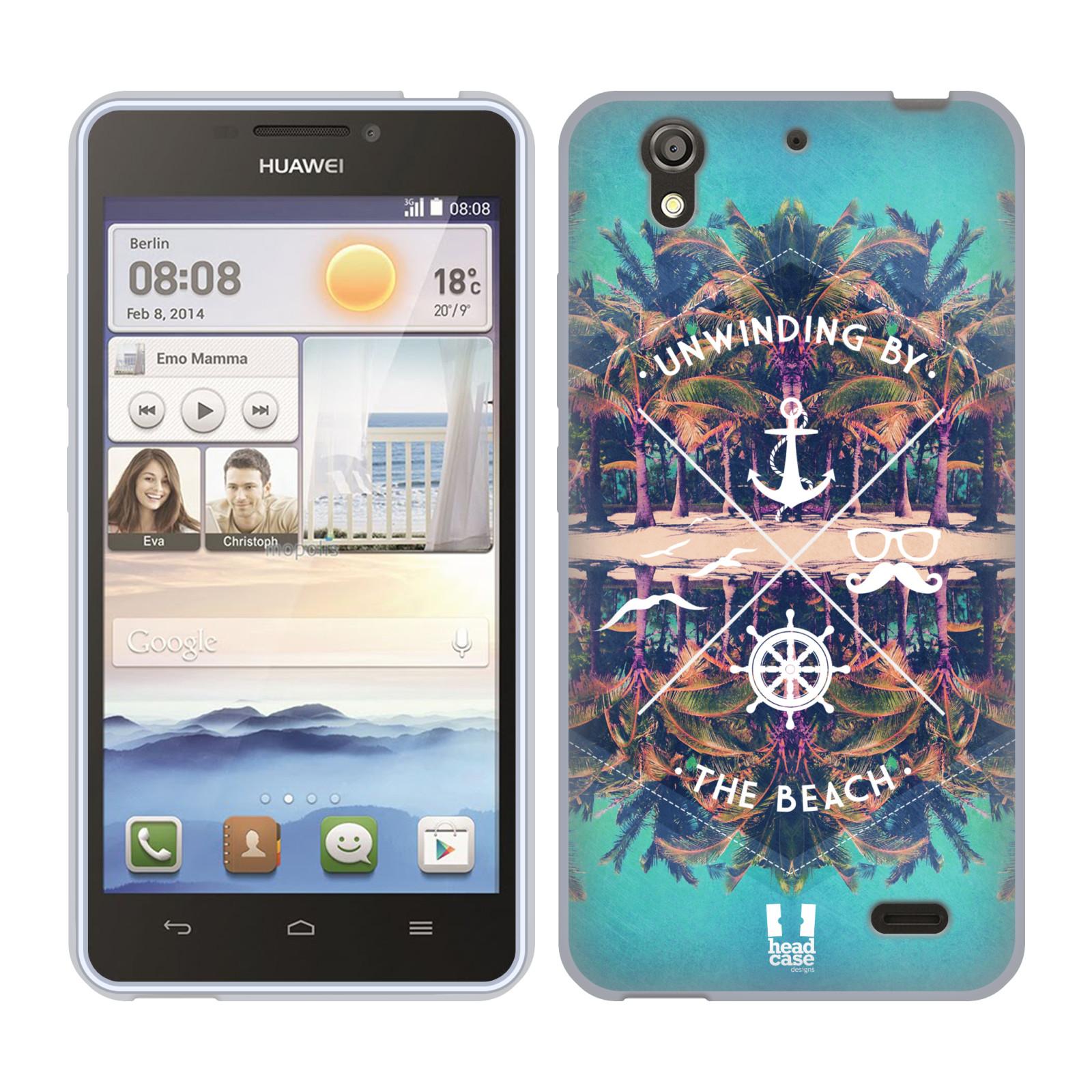 Silikonové pouzdro na mobil Huawei Ascend Y530 HEAD CASE Bezvětří (Silikonový kryt či obal na mobilní telefon Huawei Ascend Y530)