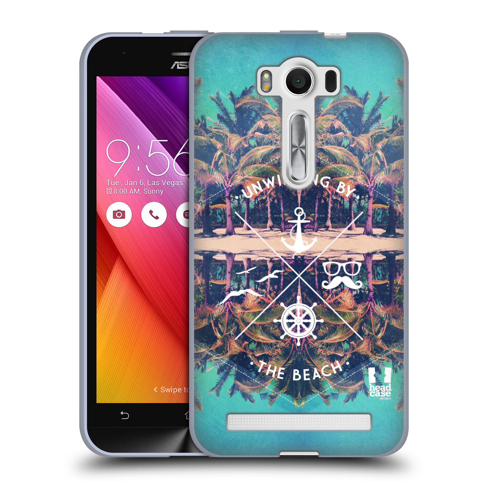 """Silikonové pouzdro na mobil Asus ZenFone 2 Laser ZE500KL HEAD CASE Bezvětří (Silikonový kryt či obal na mobilní telefon Asus ZenFone 2 Laser ZE500KL s 5"""" displejem)"""