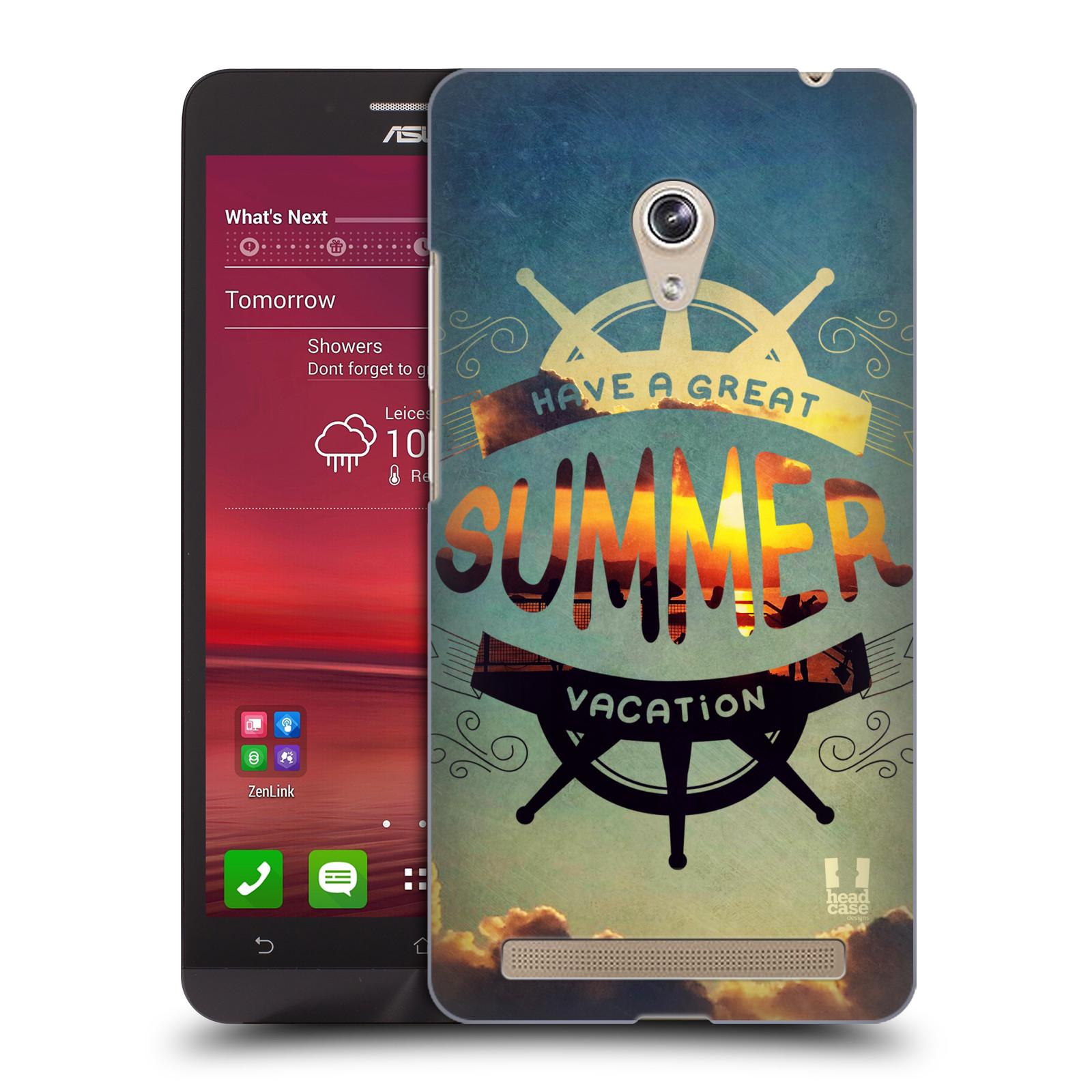 Plastové pouzdro na mobil Asus Zenfone 6 HEAD CASE Letní prázdniny (Kryt či obal na mobilní telefon Asus Zenfone 6 A600CG / A601CG)