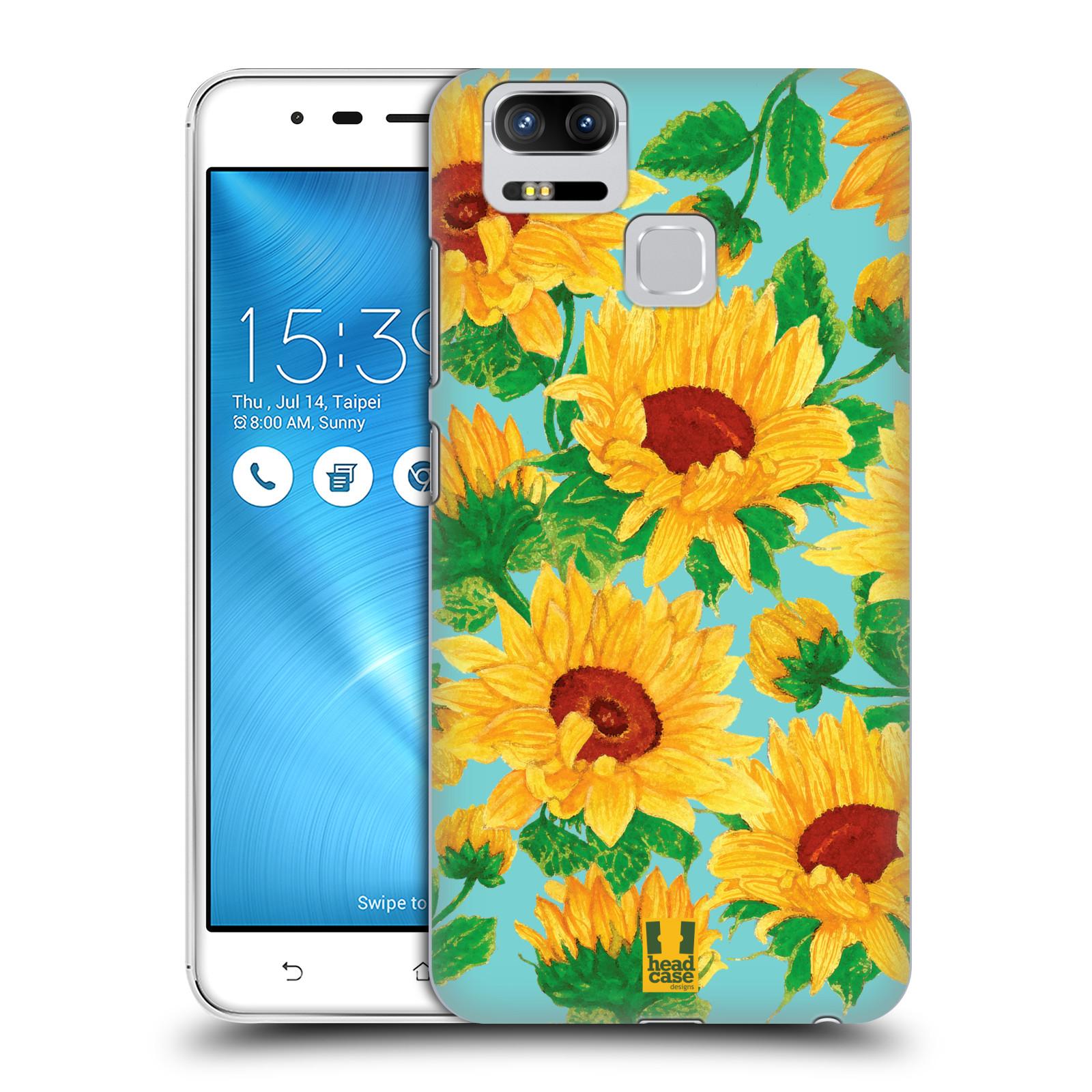 Plastové pouzdro na mobil Asus ZenFone 3 ZOOM ZE553KL - Head Case - Slunečnice (Plastový kryt či obal na mobilní telefon Asus ZenFone 3 ZOOM ZE553KL s motivem Slunečnice)