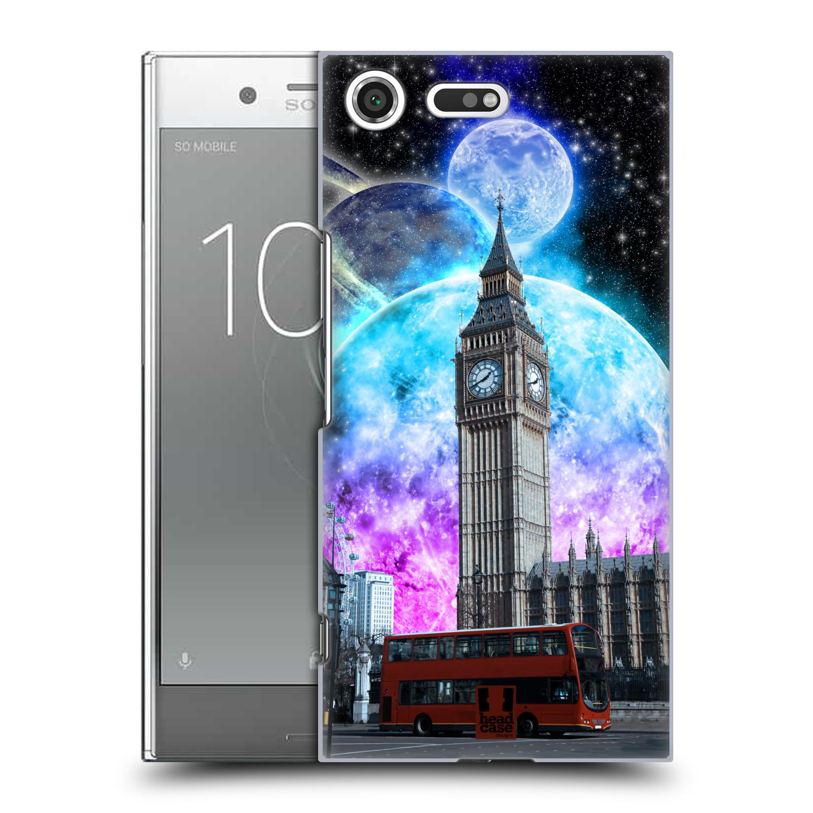 Plastové pouzdro na mobil Sony Xperia XZ Premium Head Case - Měsíční Londýn