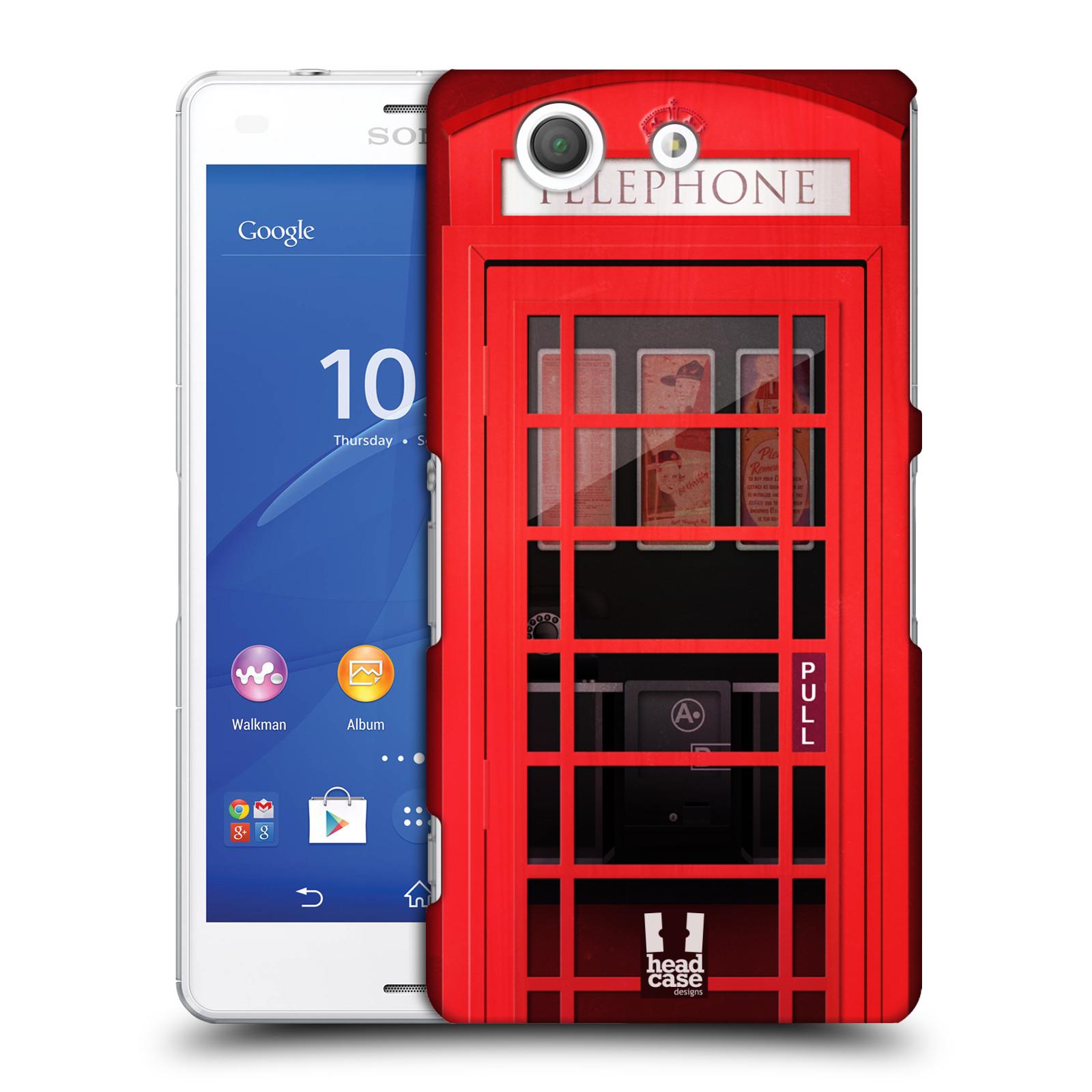 Plastové pouzdro na mobil Sony Xperia Z3 Compact D5803 HEAD CASE TELEFONNÍ BUDKA