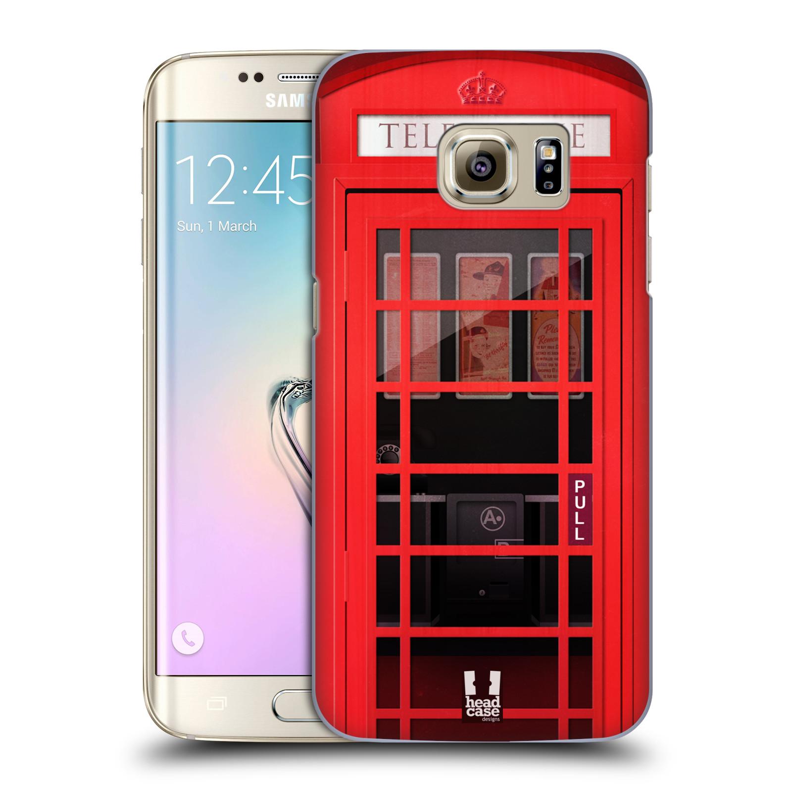 Plastové pouzdro na mobil Samsung Galaxy S7 Edge HEAD CASE TELEFONNÍ BUDKA (Kryt či obal na mobilní telefon Samsung Galaxy S7 Edge SM-G935F)