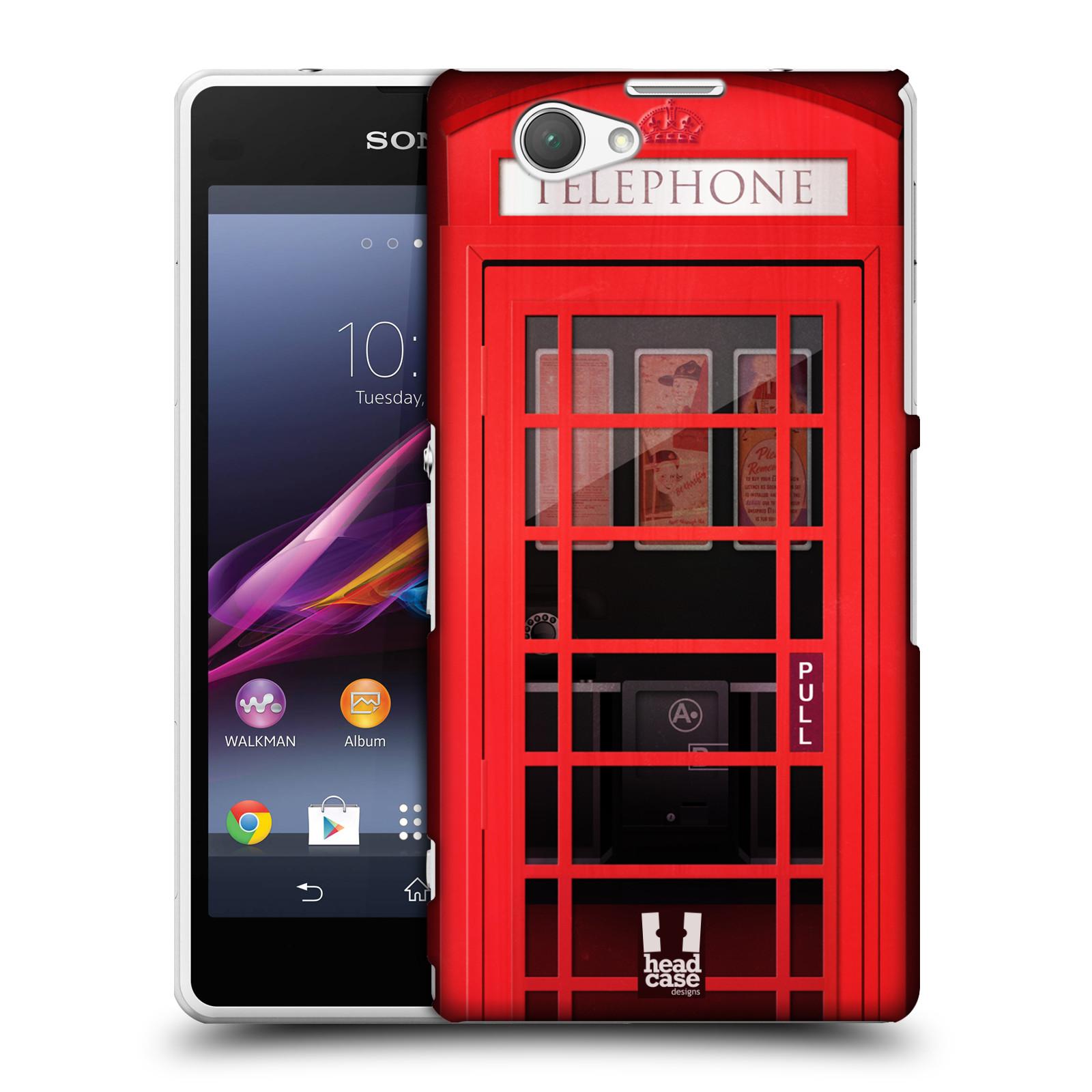 Plastové pouzdro na mobil Sony Xperia Z1 Compact D5503 HEAD CASE TELEFONNÍ BUDKA