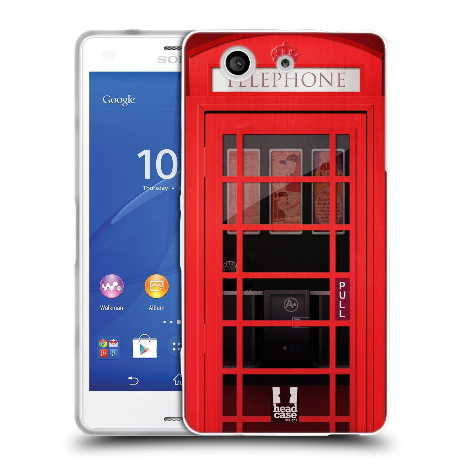 Silikonové pouzdro na mobil Sony Xperia Z3 Compact D5803 HEAD CASE TELEFONNÍ BUDKA