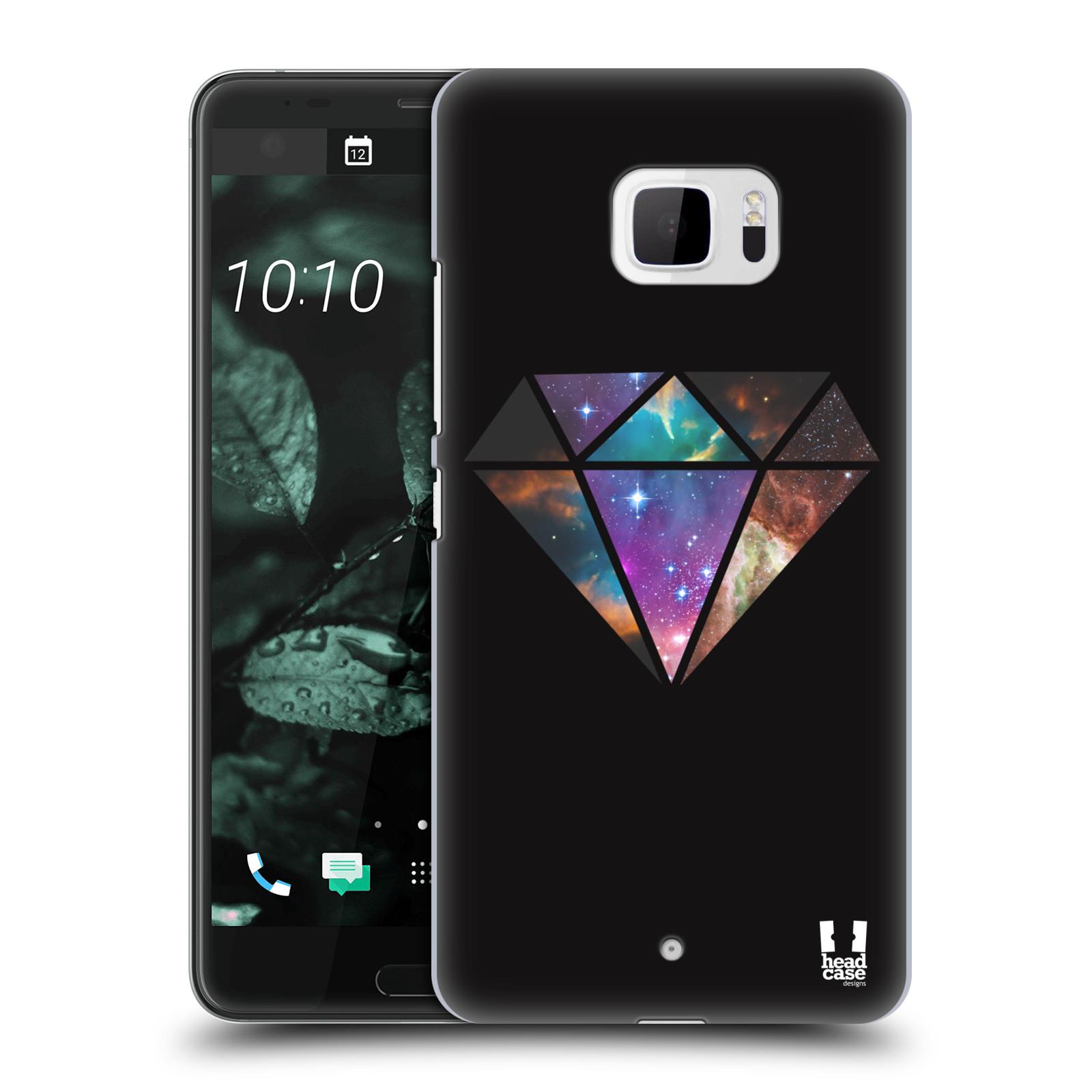 Plastové pouzdro na mobil HTC U Ultra Head Case - MIX DIAMANT (Plastový kryt či obal na mobilní telefon HTC U Ultra (99HALT015-00))