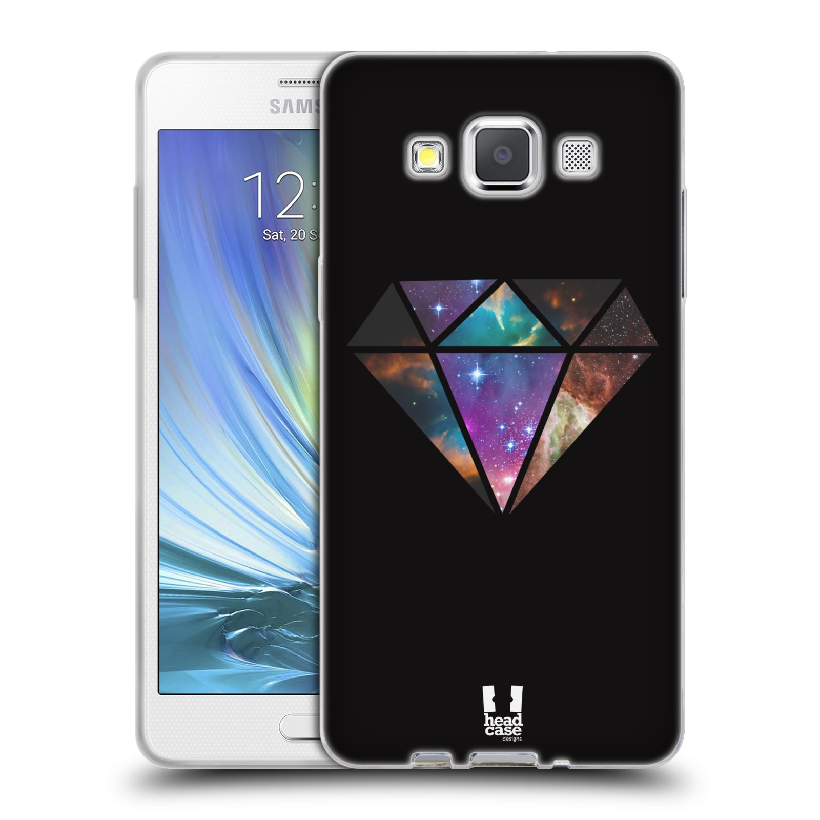 Silikonové pouzdro na mobil Samsung Galaxy A5 HEAD CASE MIX DIAMANT