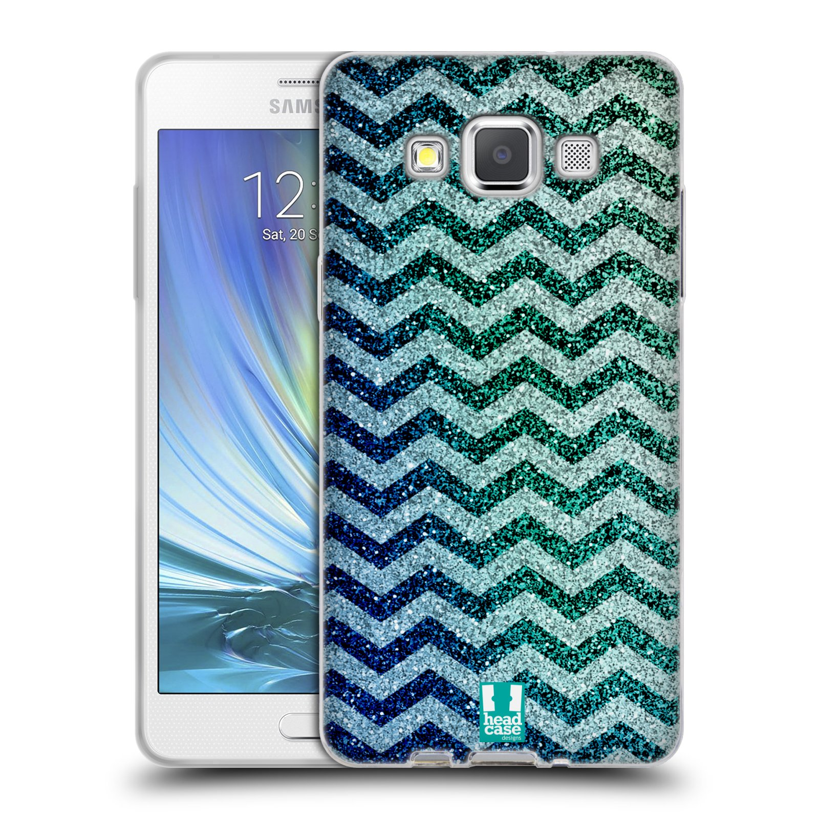 Silikonové pouzdro na mobil Samsung Galaxy A5 HEAD CASE MIX CHEVRON