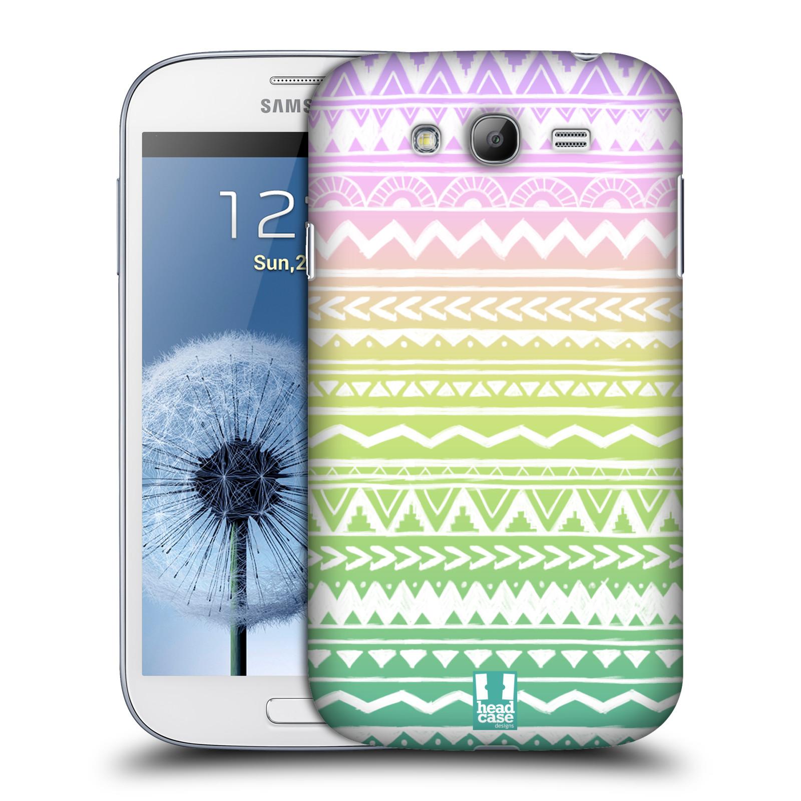 Plastové pouzdro na mobil Samsung Galaxy Grand Neo Plus HEAD CASE MIX AZTEC DRAWN (Kryt či obal na mobilní telefon Samsung Galaxy Grand Neo Plus GT-i9060i)