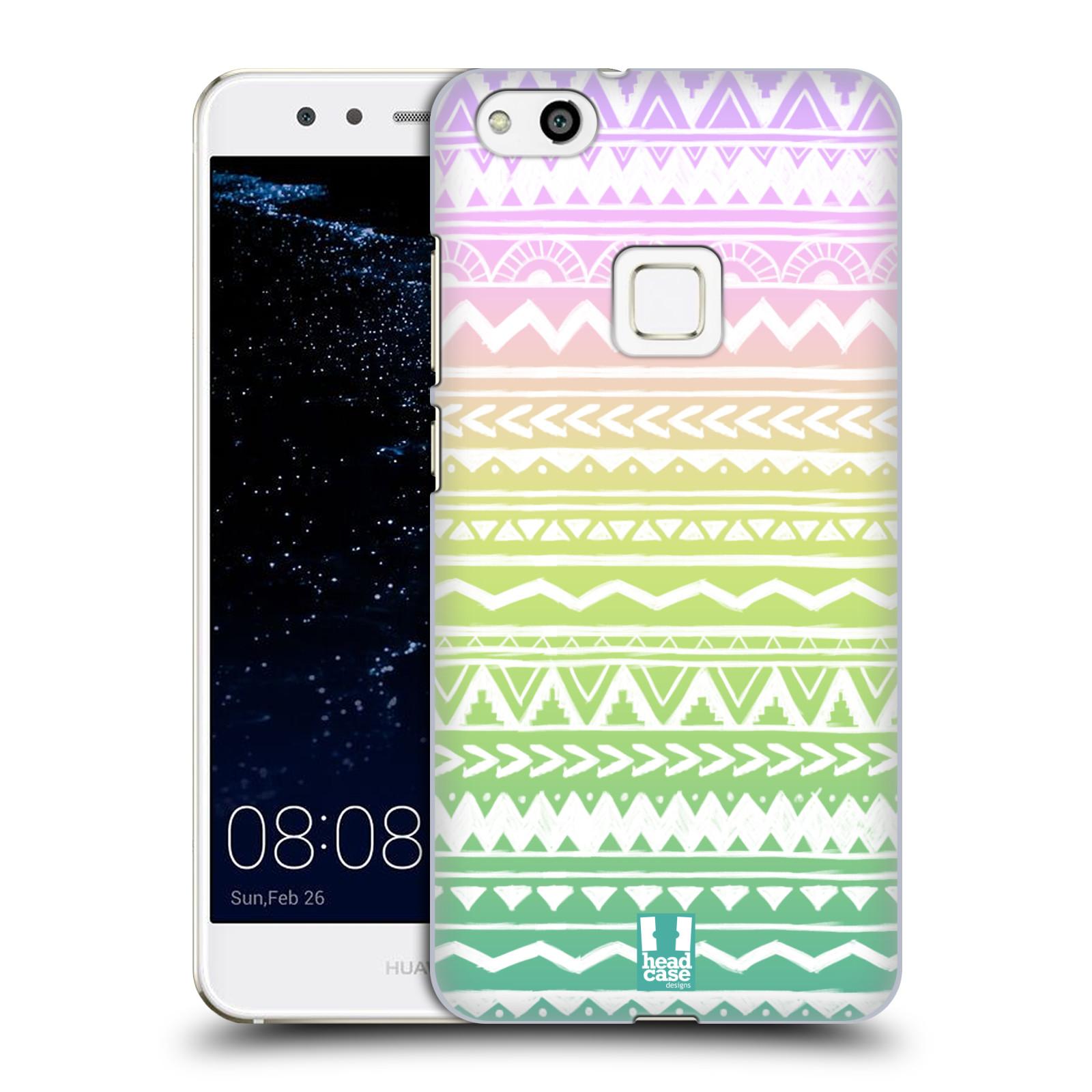 Plastové pouzdro na mobil Huawei P10 Lite Head Case - MIX AZTEC DRAWN (Plastový kryt či obal na mobilní telefon Huawei P10 Lite Dual SIM (LX1/LX1A))
