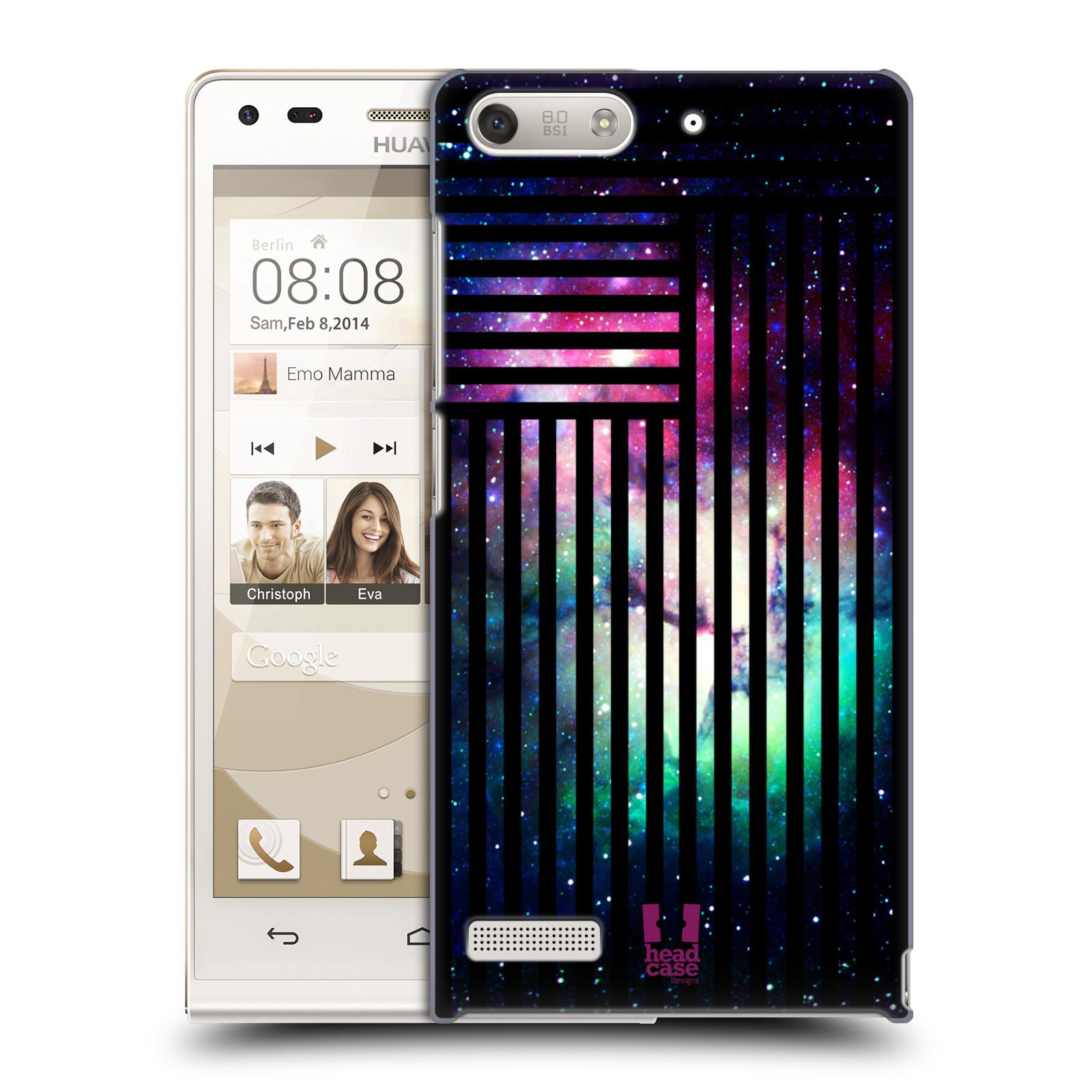 Plastové pouzdro na mobil Huawei Ascend G6 HEAD CASE MIX NEBULA STRIPES (Kryt či obal na mobilní telefon Huawei Ascend G6 bez LTE)