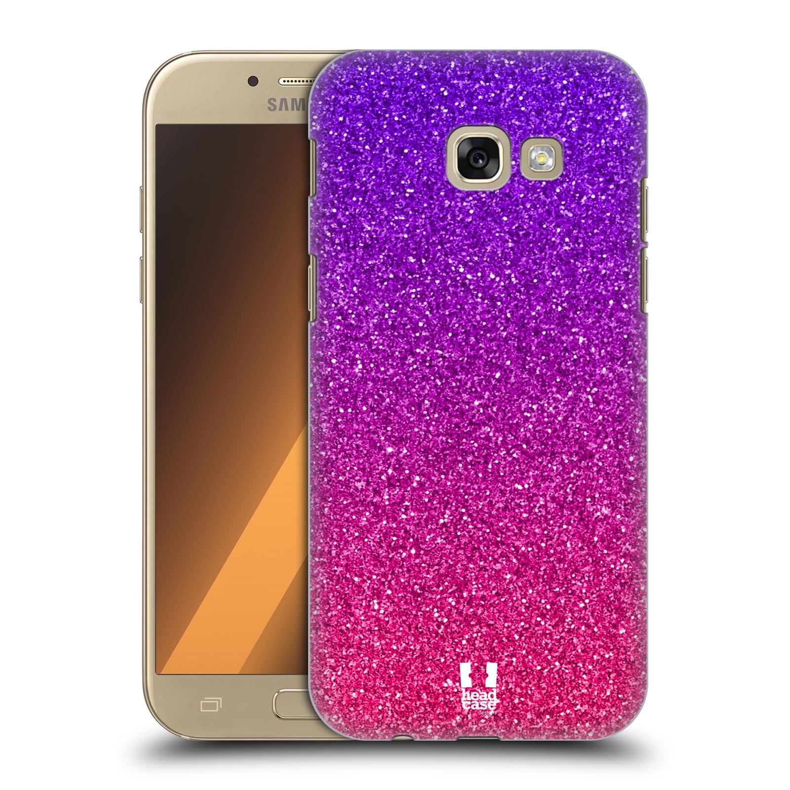 Plastové pouzdro na mobil Samsung Galaxy A5 (2017) HEAD CASE MIX PINK