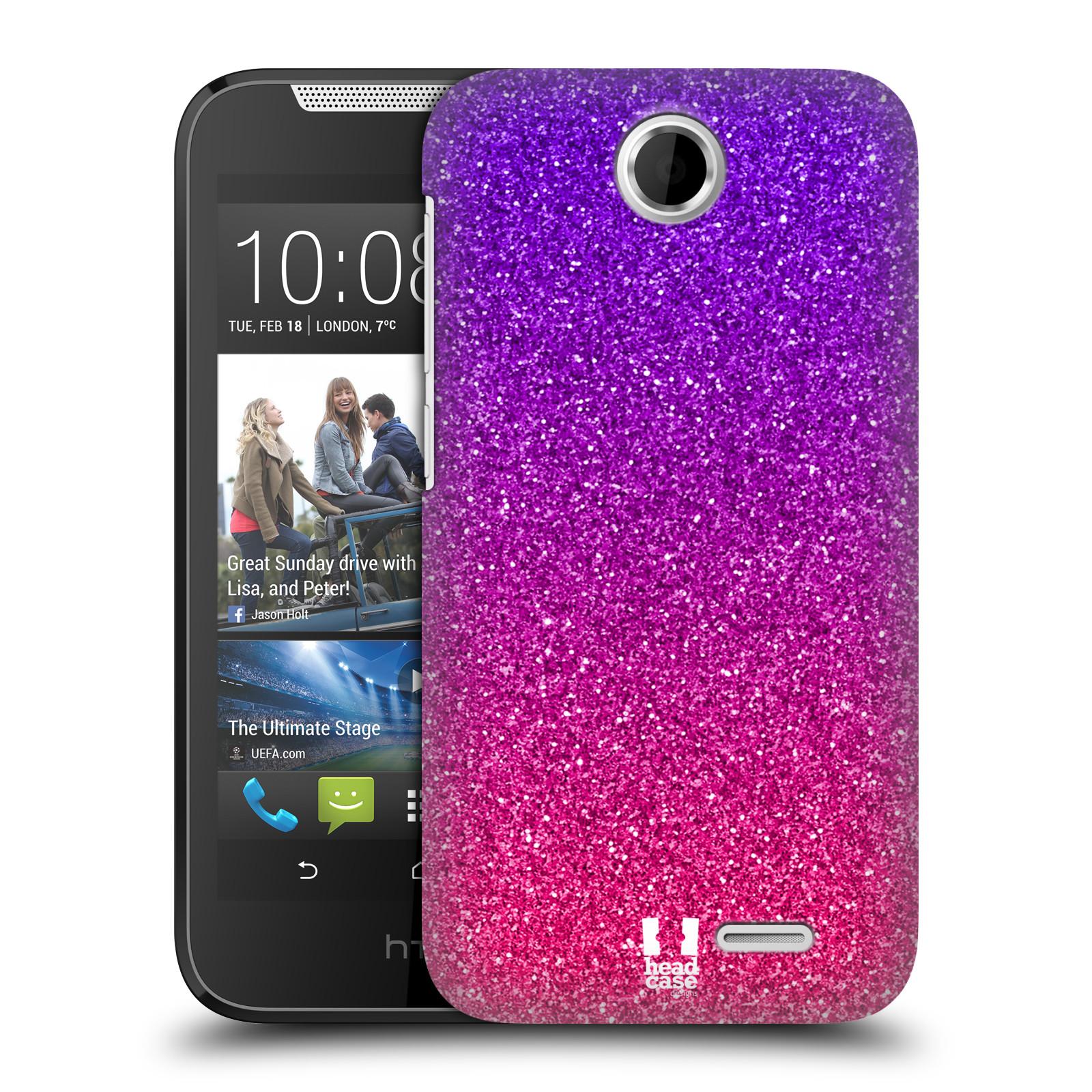 Plastové pouzdro na mobil HTC Desire 310 HEAD CASE MIX PINK (Kryt či obal na mobilní telefon HTC Desire 310)