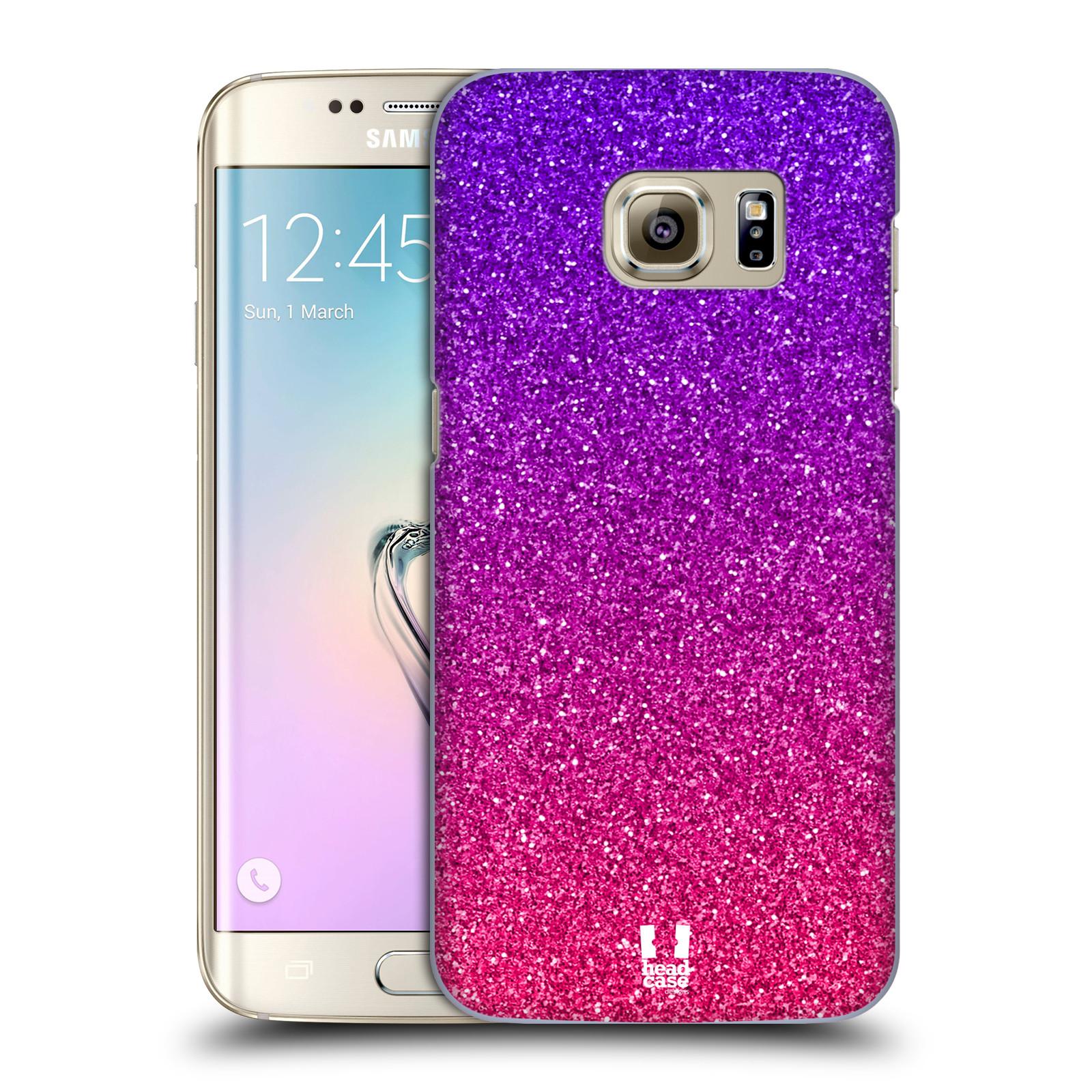 Plastové pouzdro na mobil Samsung Galaxy S7 Edge HEAD CASE MIX PINK (Kryt či obal na mobilní telefon Samsung Galaxy S7 Edge SM-G935F)