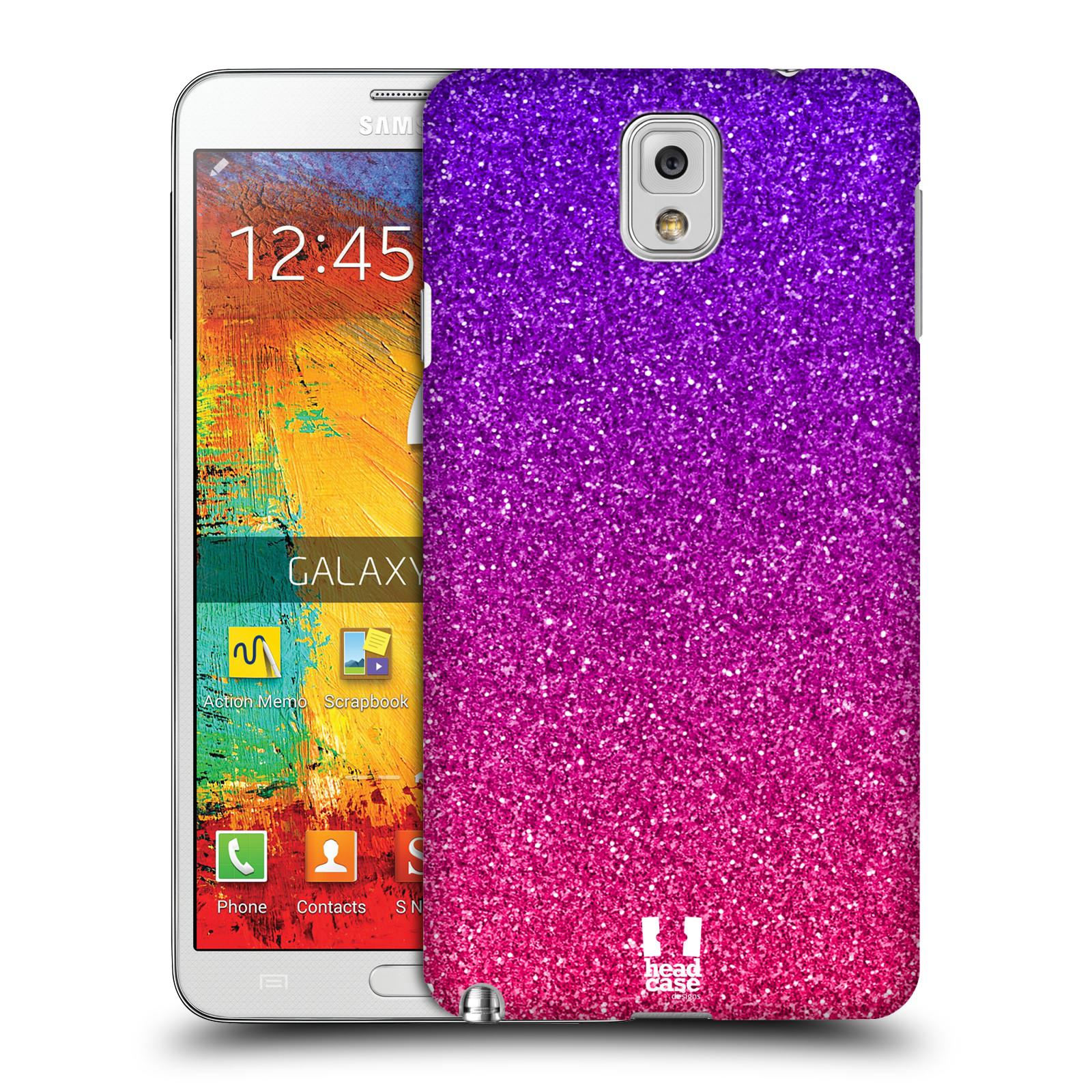Plastové pouzdro na mobil Samsung Galaxy Note 3 HEAD CASE MIX PINK (Kryt či obal na mobilní telefon Samsung Galaxy Note 3 SM-N9005)