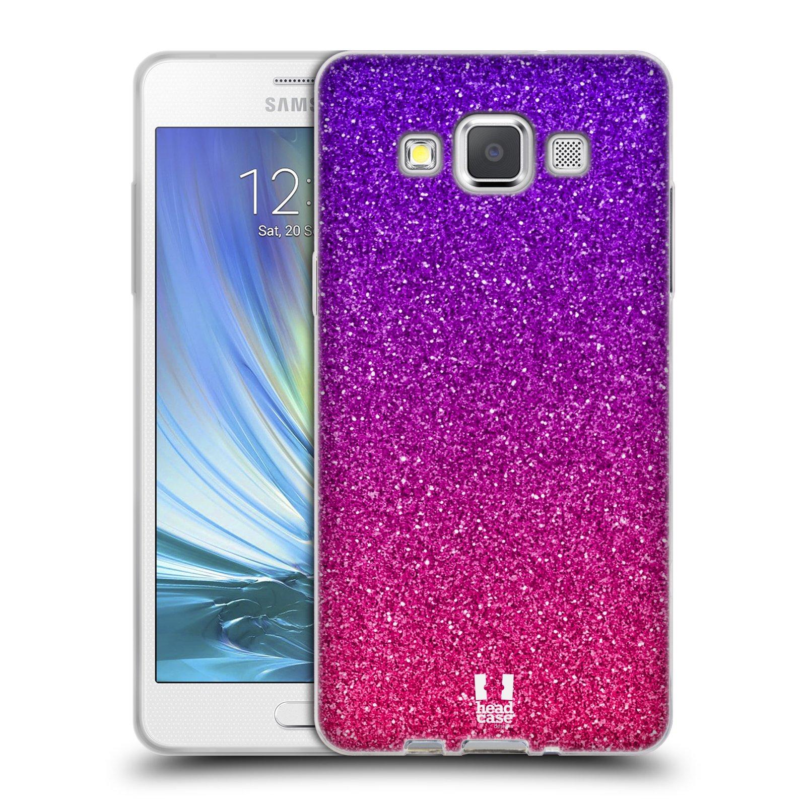 Silikonové pouzdro na mobil Samsung Galaxy A5 HEAD CASE MIX PINK