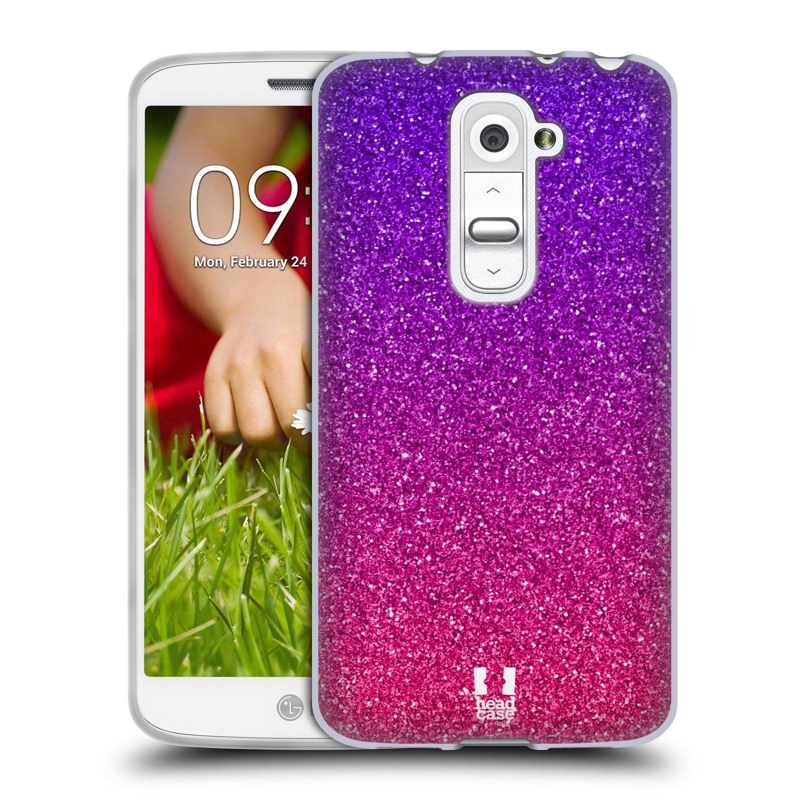 Silikonové pouzdro na mobil LG G2 Mini HEAD CASE MIX PINK (Silikonový kryt či obal na mobilní telefon LG G2 Mini D620)
