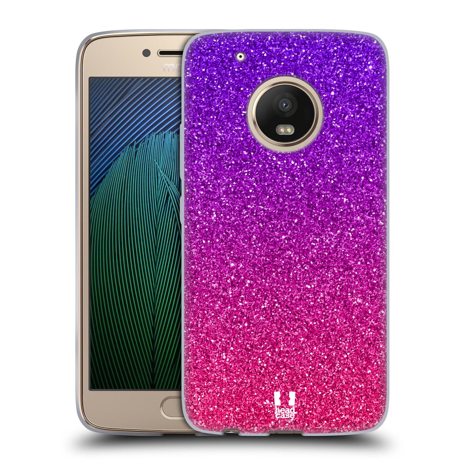 Silikonové pouzdro na mobil Lenovo Moto G5 Plus - Head Case MIX PINK (Silikonový kryt či obal na mobilní telefon Lenovo Moto G5 Plus)