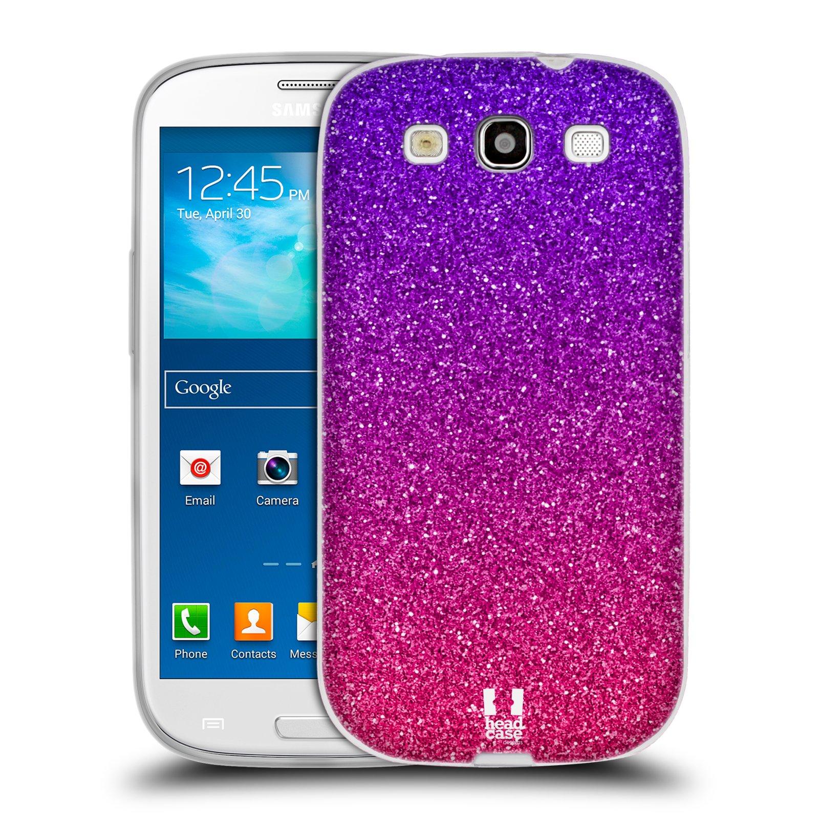 Silikonové pouzdro na mobil Samsung Galaxy S3 Neo HEAD CASE MIX PINK (Silikonový kryt či obal na mobilní telefon Samsung Galaxy S3 Neo GT-i9301i)