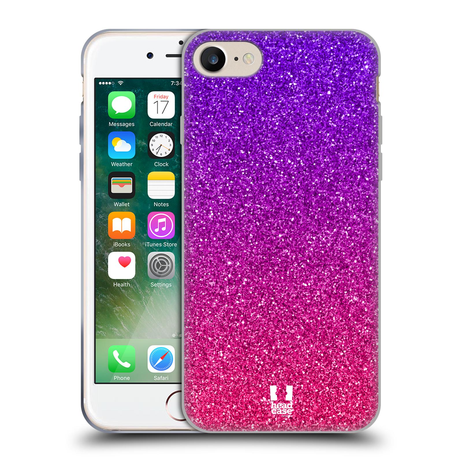 Silikonové pouzdro na mobil Apple iPhone 7 HEAD CASE MIX PINK
