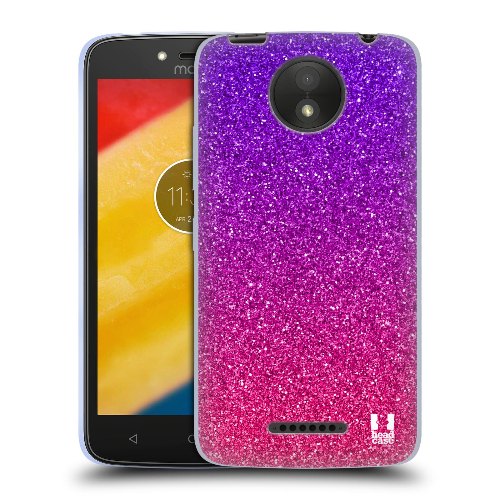 Silikonové pouzdro na mobil Lenovo Moto C Plus - Head Case - Mix Pink (Silikonový kryt či obal na mobilní telefon Lenovo Moto C Plus s motivem Mix Pink)